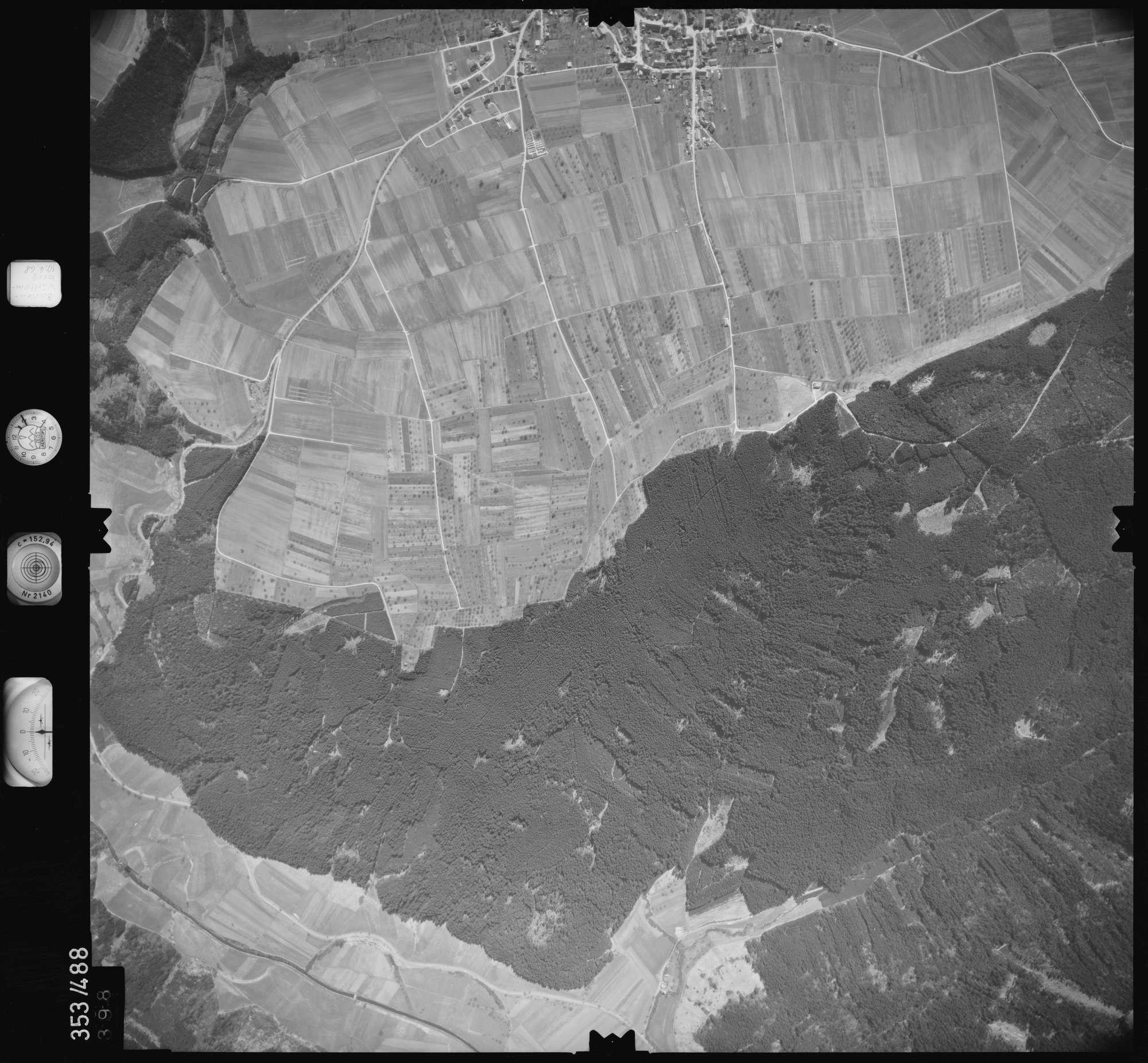 Luftbild: Film 41 Bildnr. 398, Bild 1