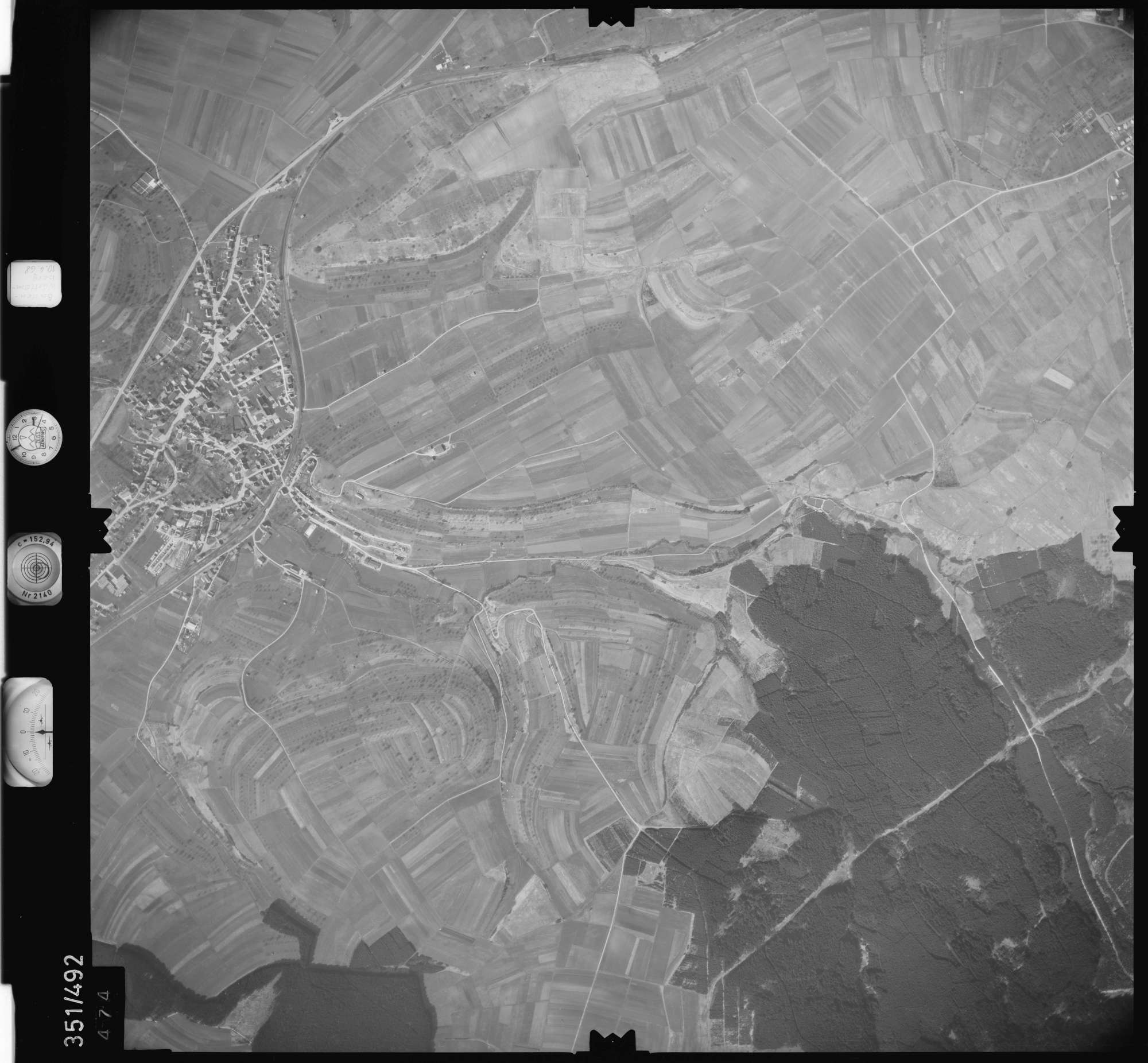 Luftbild: Film 41 Bildnr. 474, Bild 1