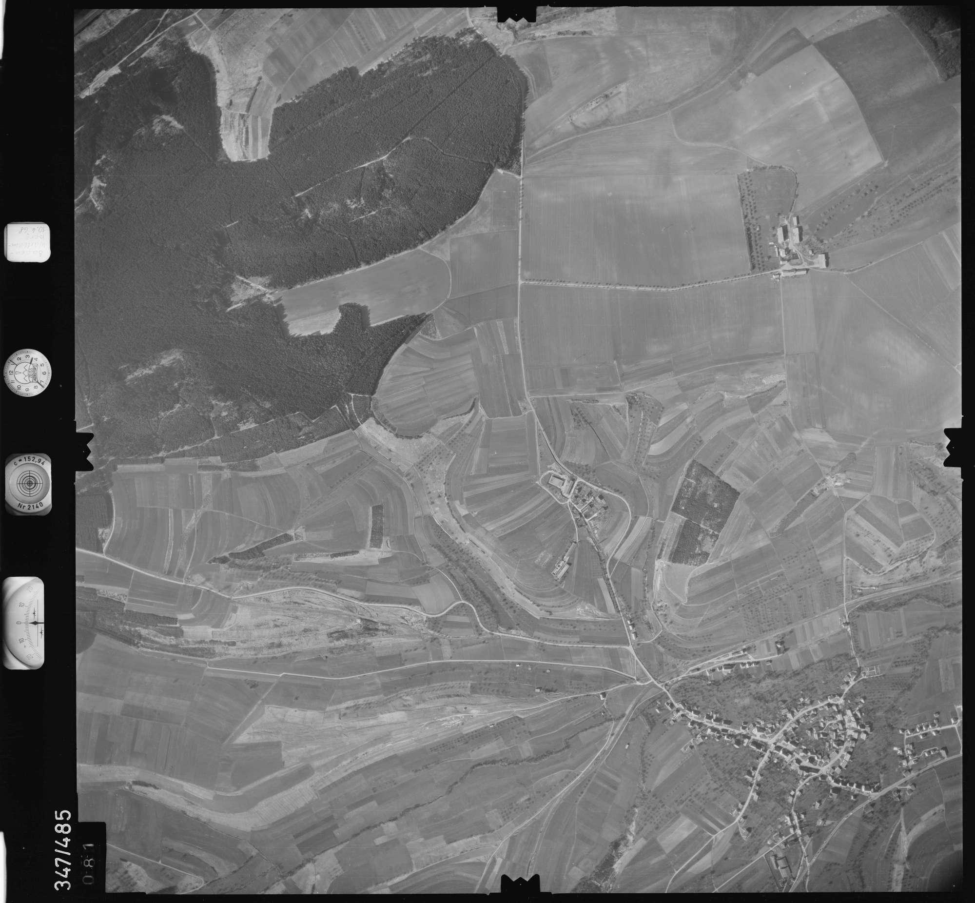 Luftbild: Film 43 Bildnr. 81, Bild 1