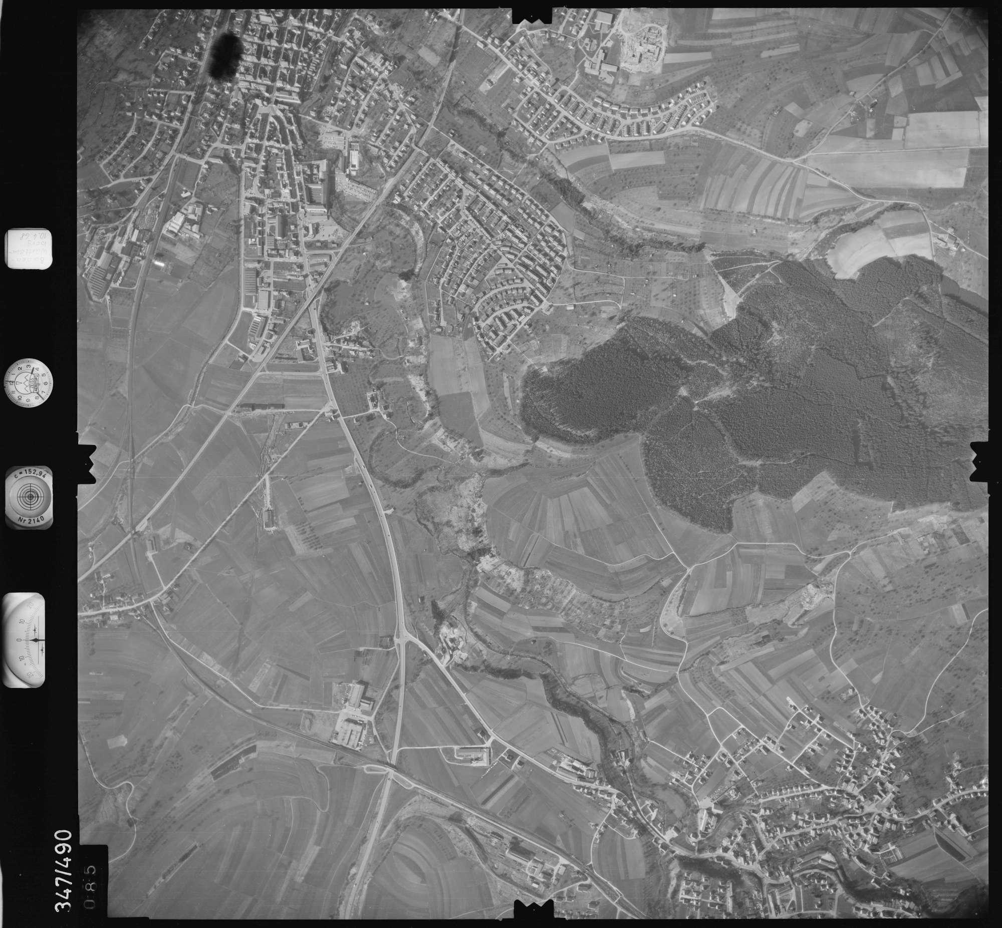 Luftbild: Film 43 Bildnr. 85, Bild 1