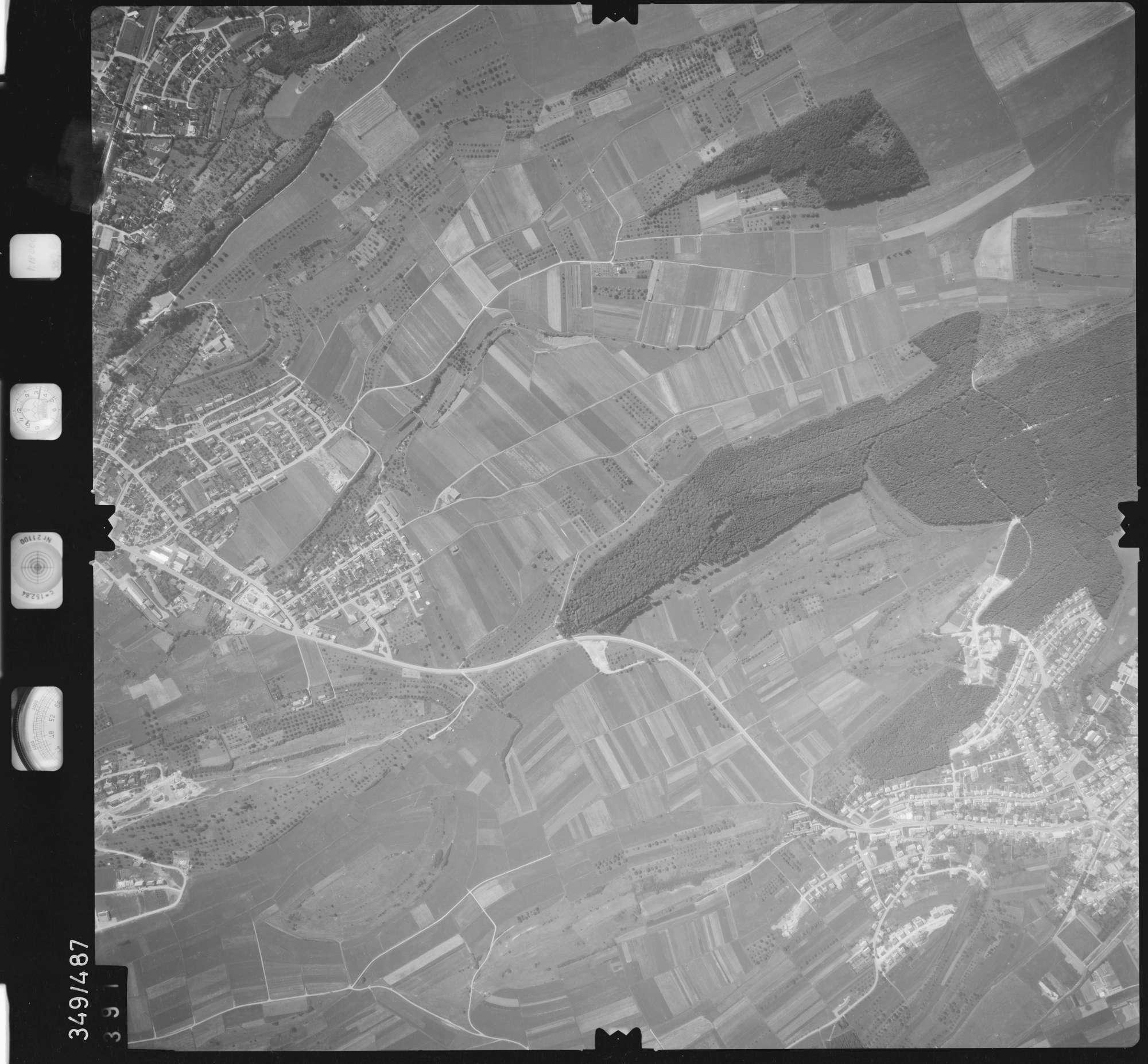 Luftbild: Film 90 Bildnr. 391, Bild 1