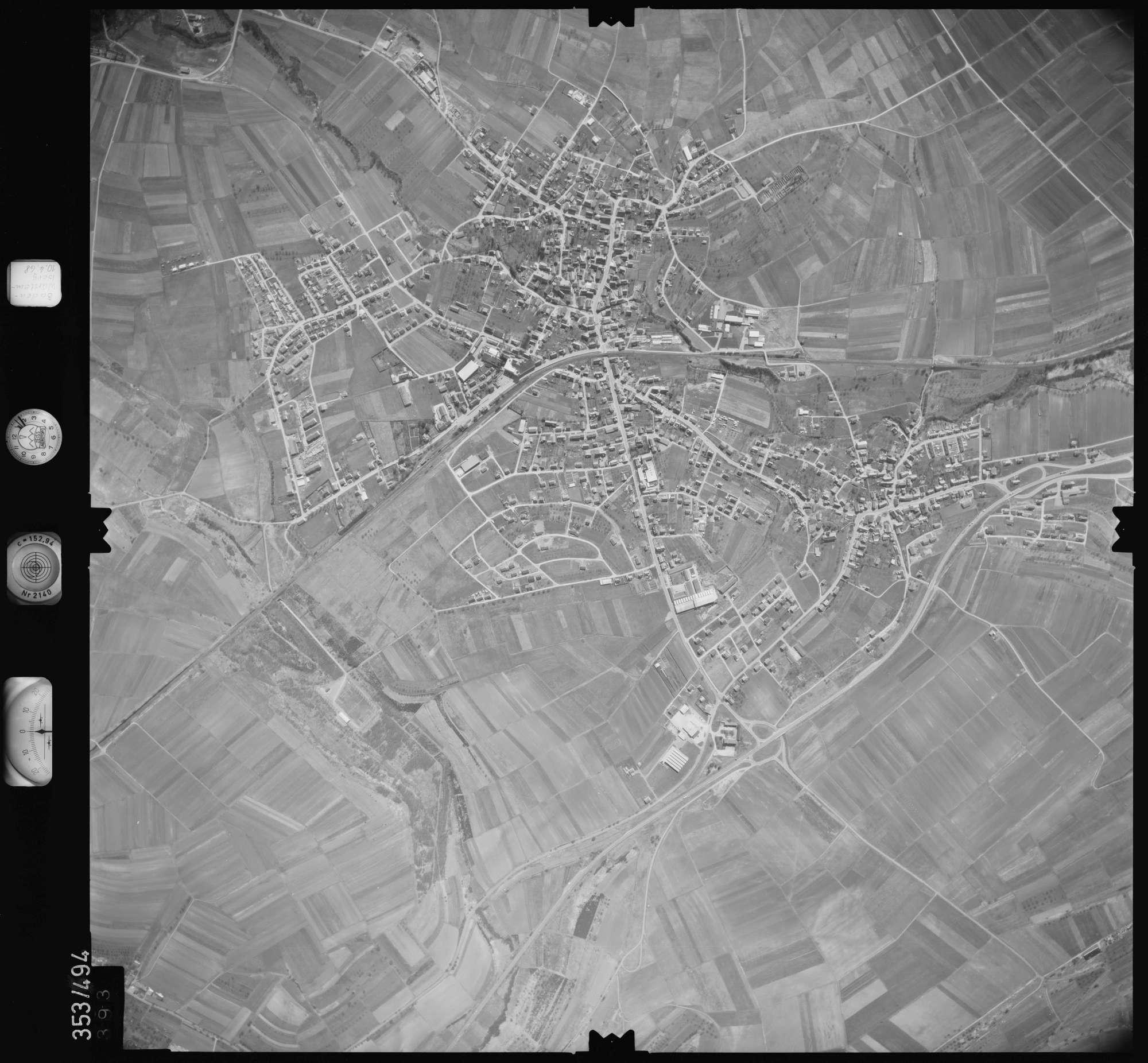 Luftbild: Film 41 Bildnr. 393, Bild 1