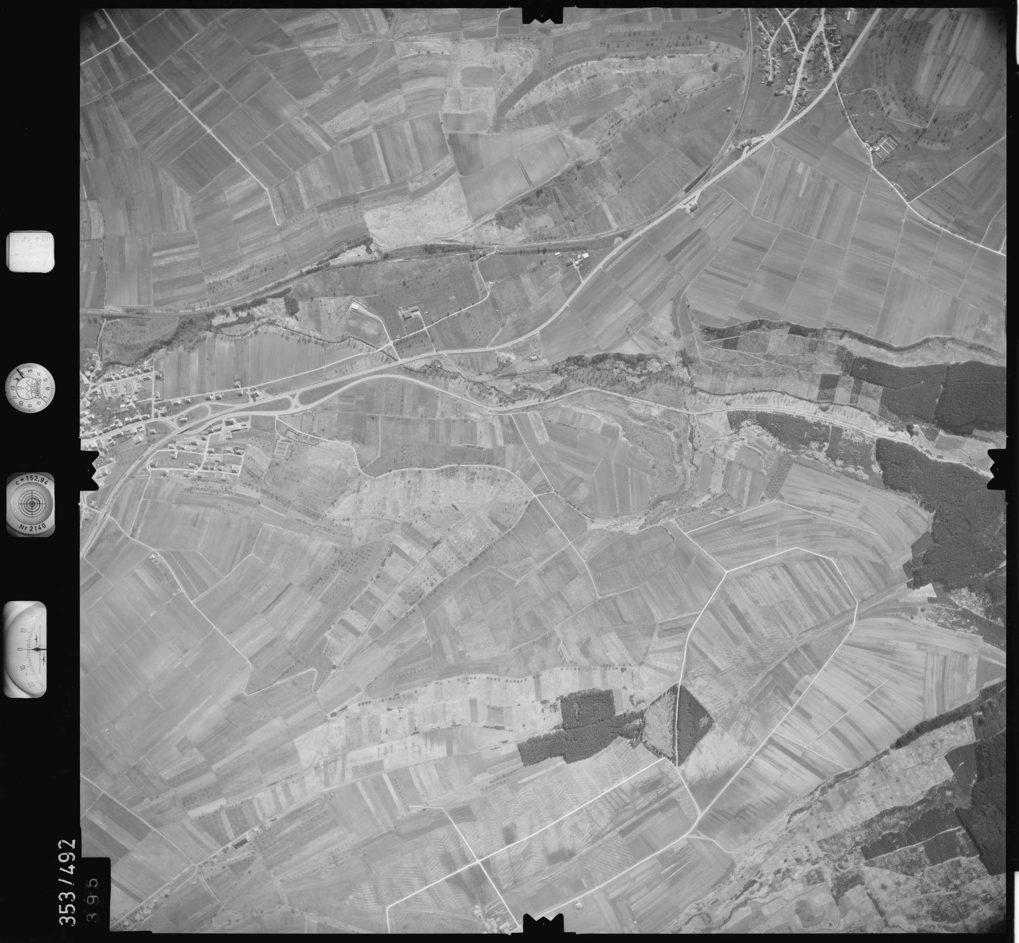Luftbild: Film 41 Bildnr. 395, Bild 1
