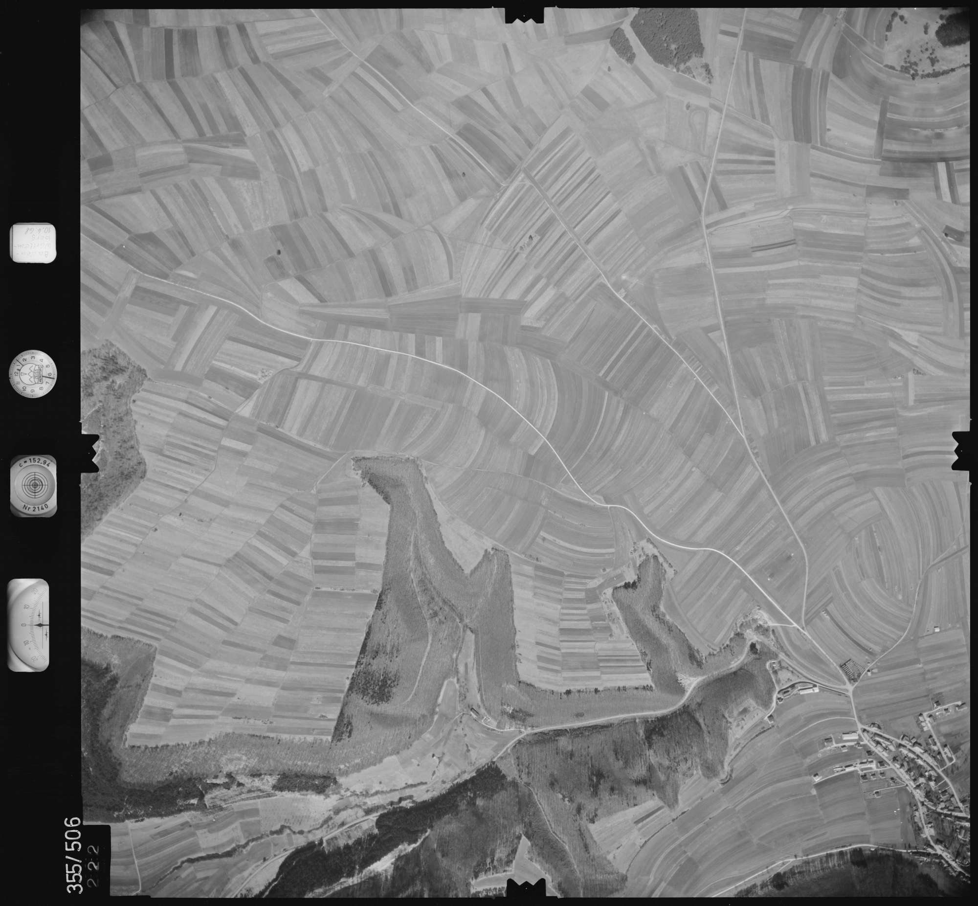Luftbild: Film 38 Bildnr. 222, Bild 1