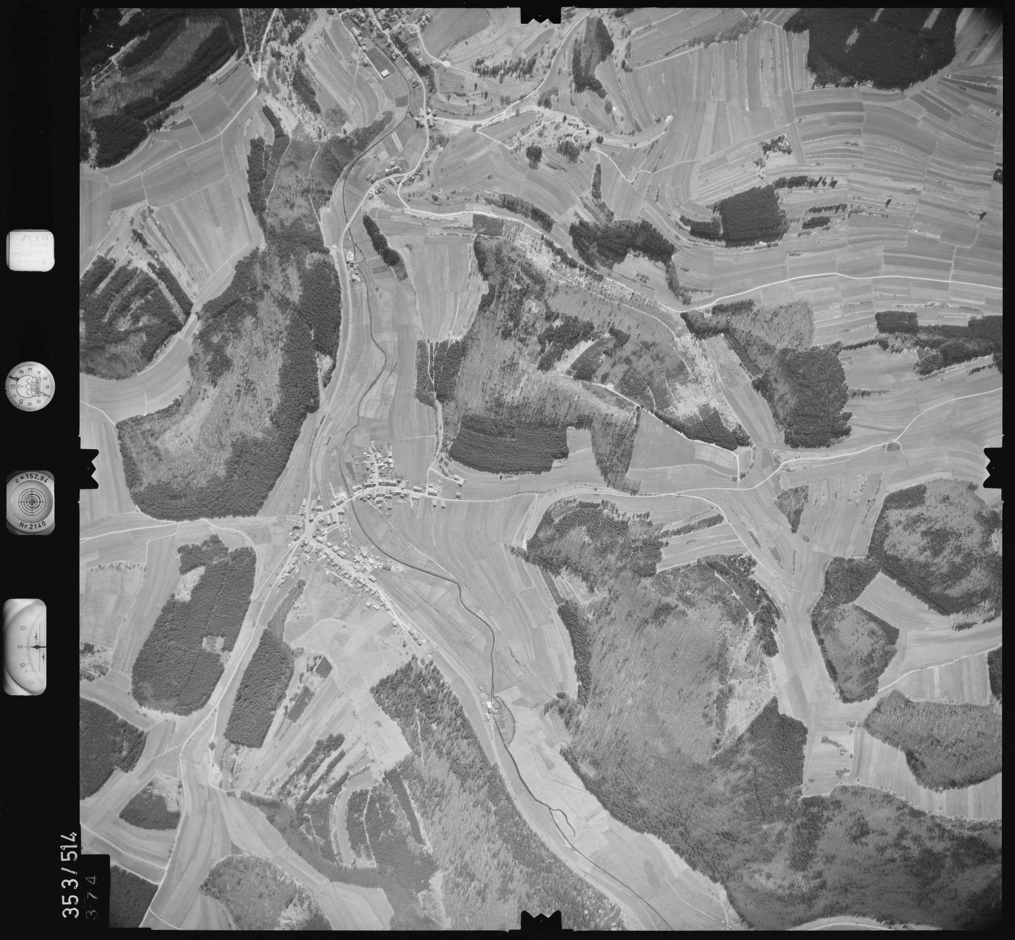 Luftbild: Film 41 Bildnr. 374, Bild 1