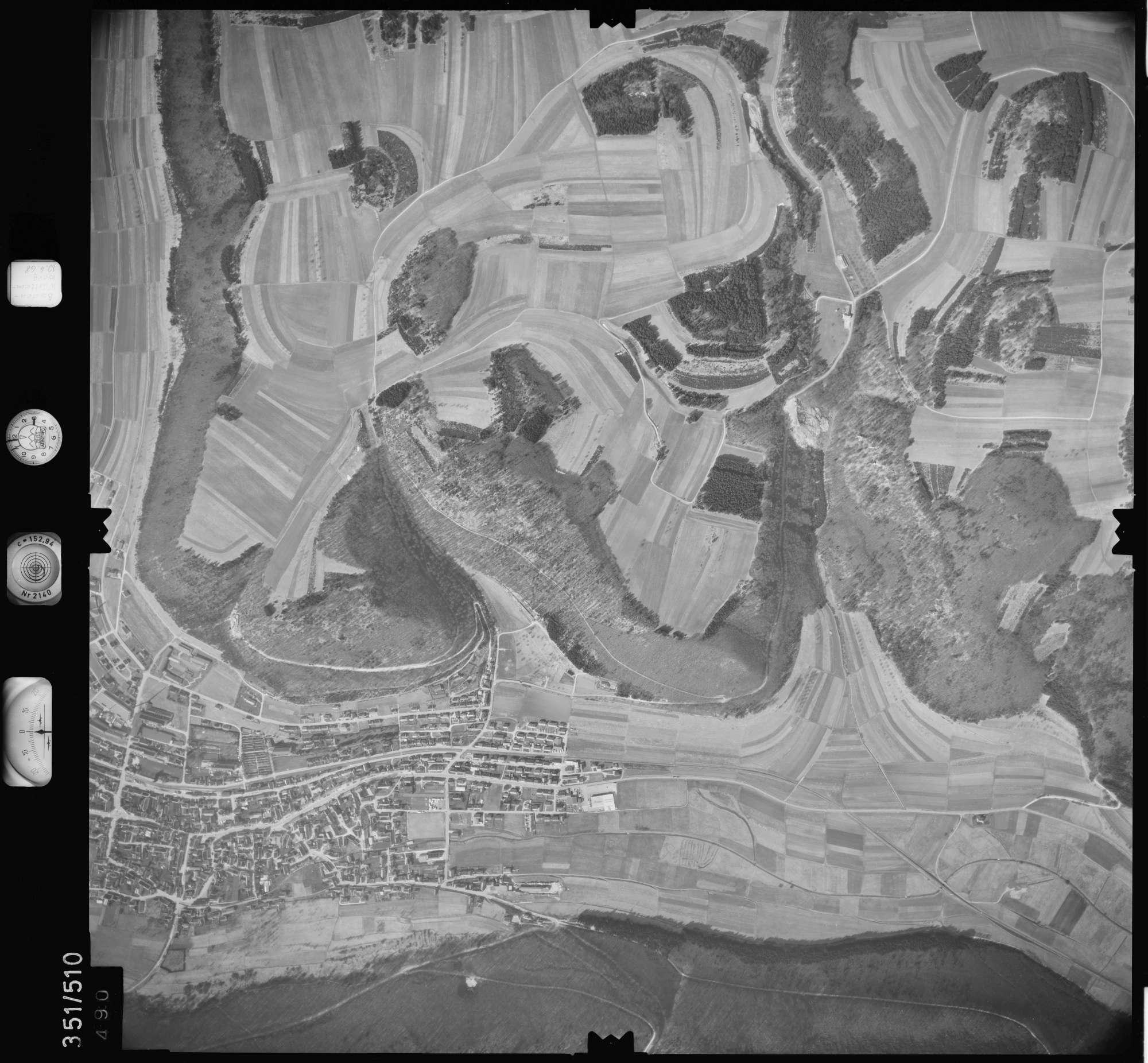 Luftbild: Film 41 Bildnr. 490, Bild 1
