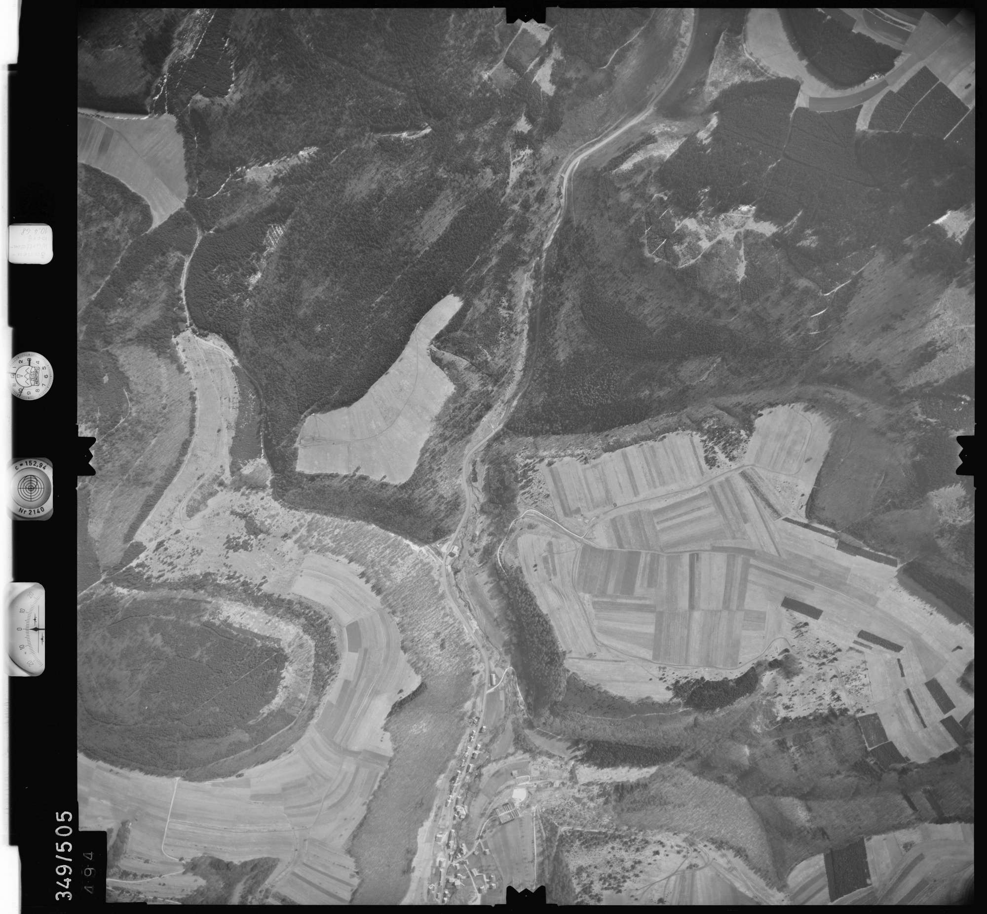 Luftbild: Film 41 Bildnr. 494, Bild 1