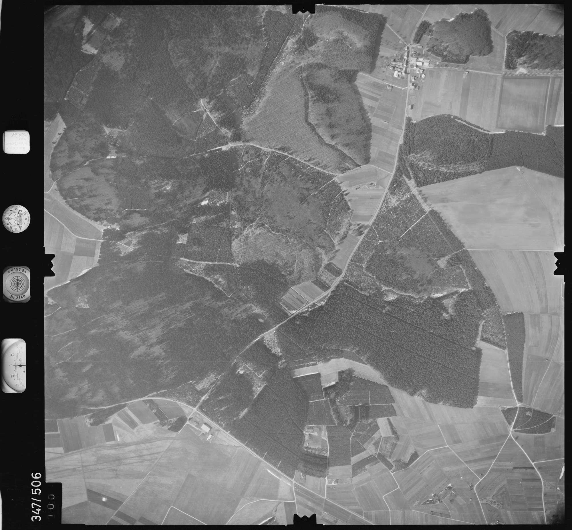 Luftbild: Film 43 Bildnr. 100, Bild 1