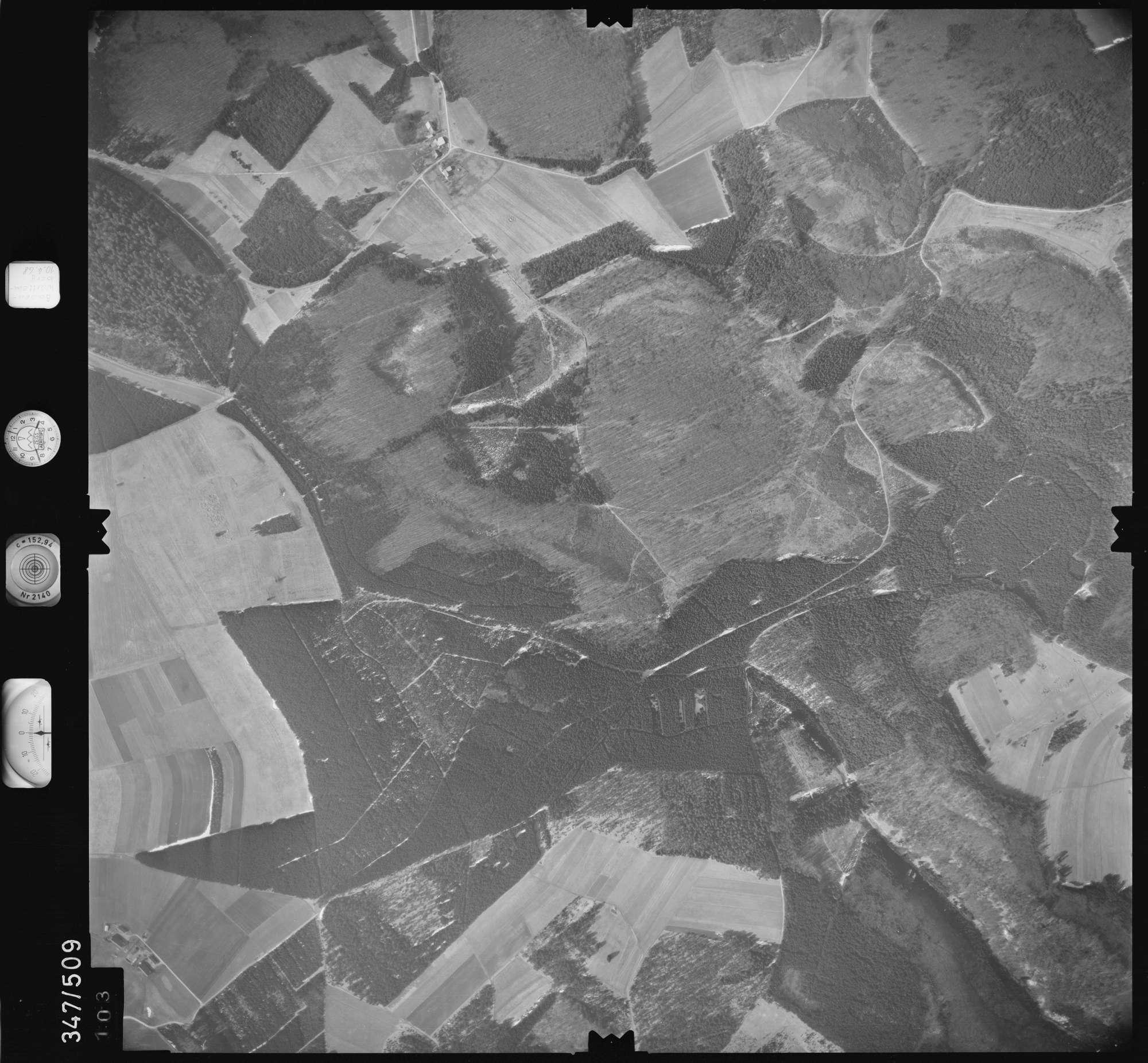 Luftbild: Film 43 Bildnr. 103, Bild 1