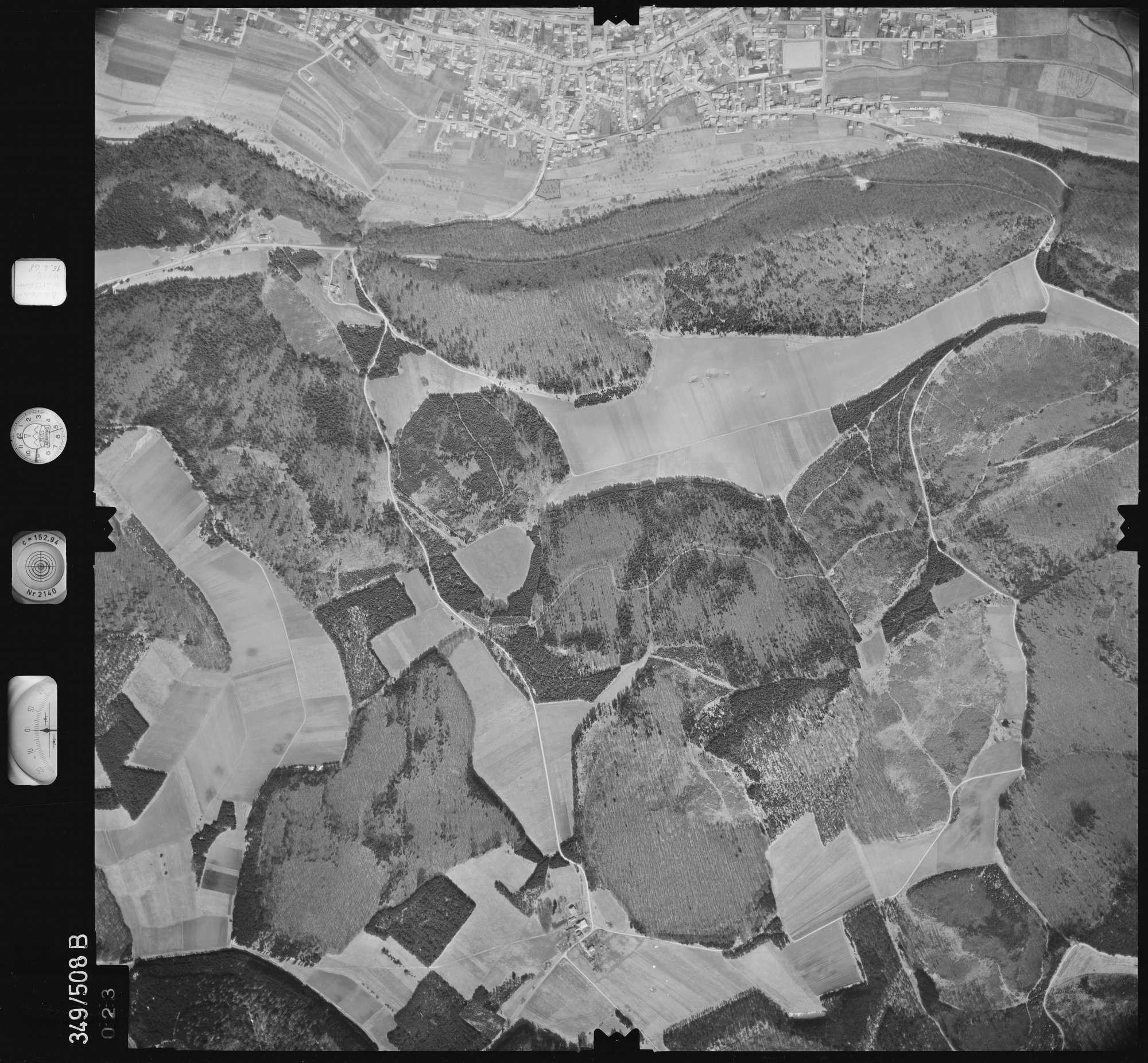 Luftbild: Film 45 Bildnr. 23, Bild 1