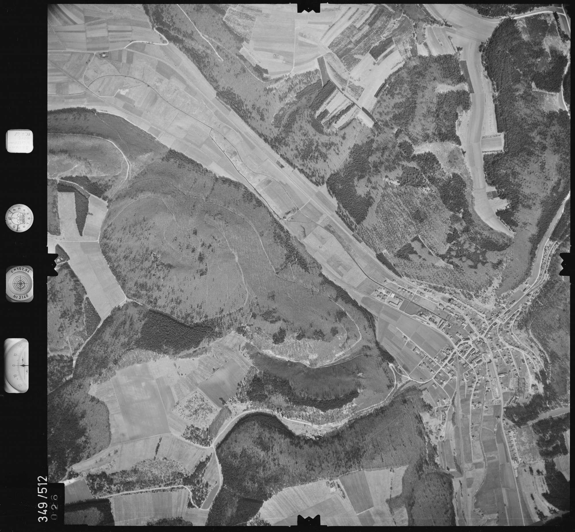 Luftbild: Film 45 Bildnr. 26, Bild 1