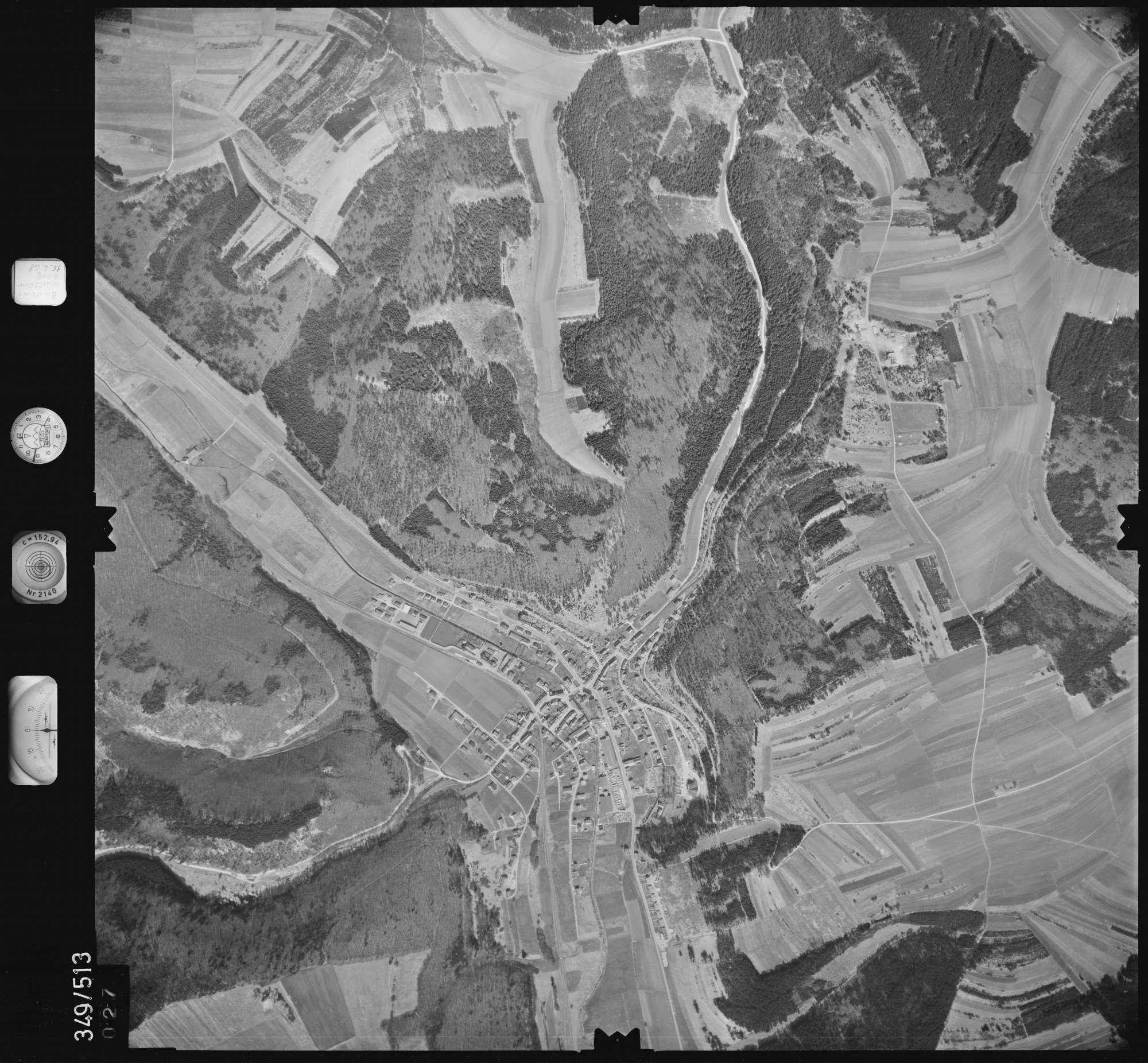 Luftbild: Film 45 Bildnr. 27, Bild 1