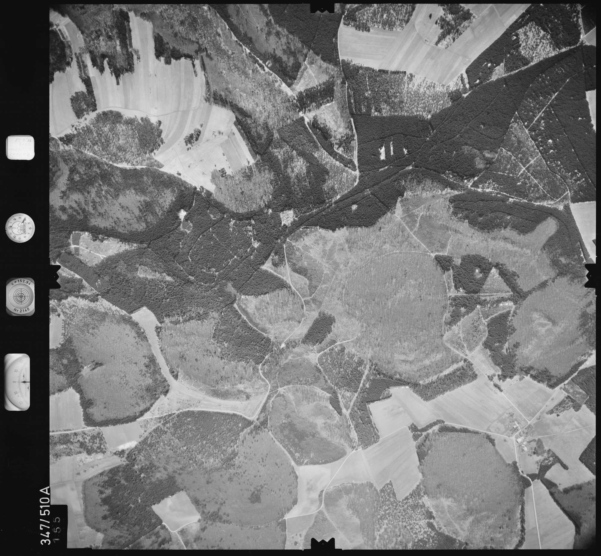 Luftbild: Film 45 Bildnr. 155, Bild 1