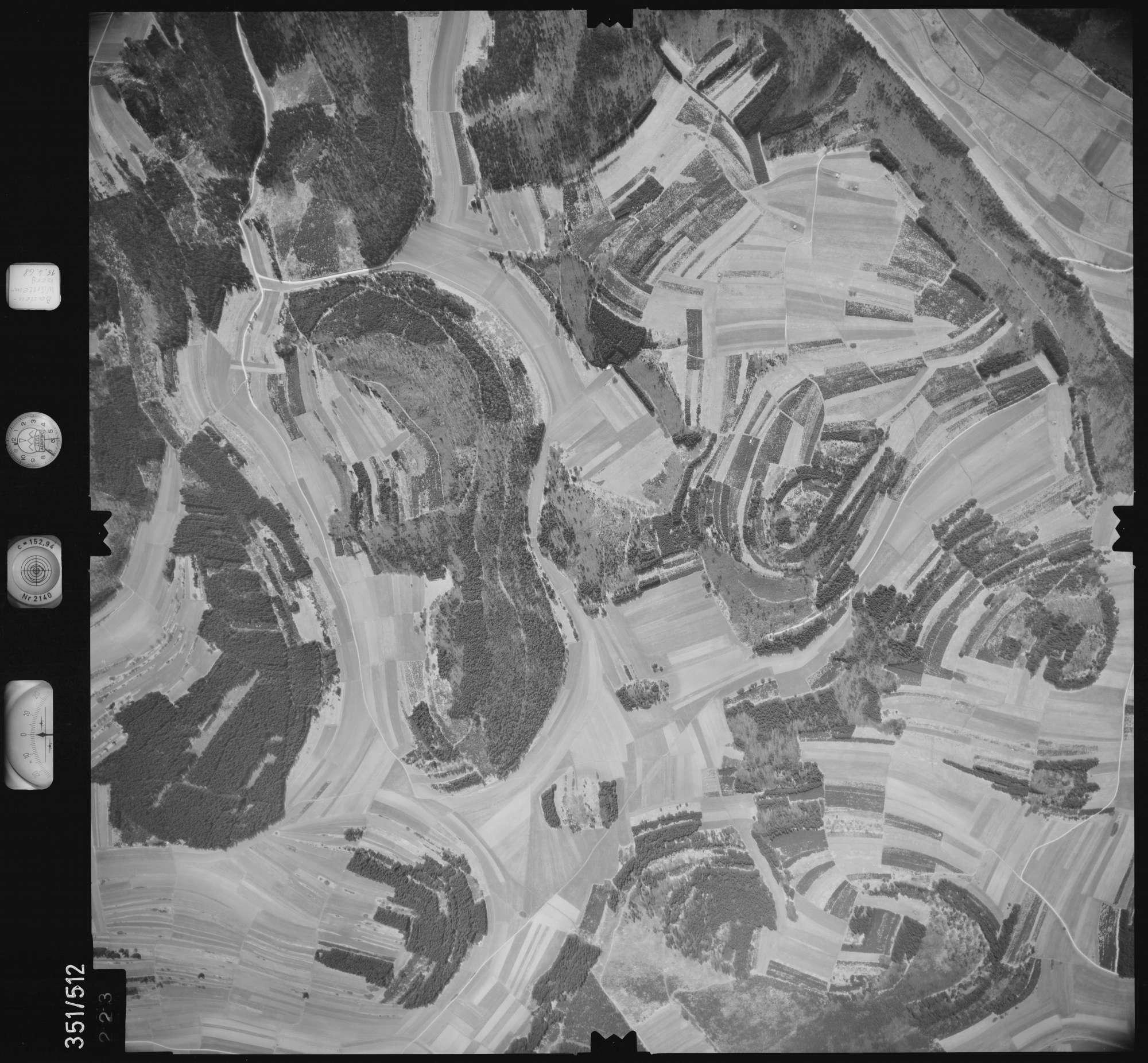 Luftbild: Film 105 Bildnr. 223, Bild 1