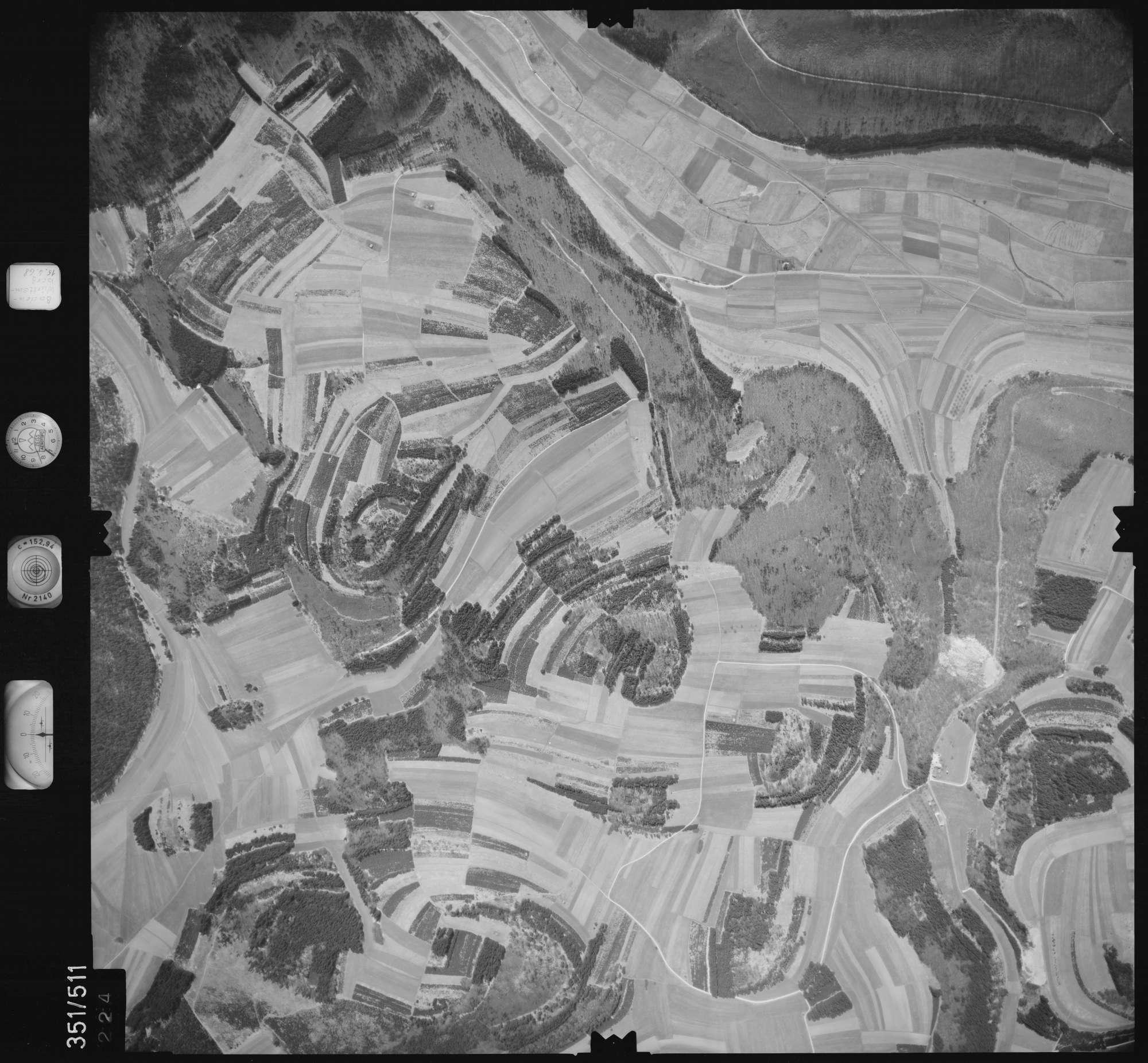 Luftbild: Film 105 Bildnr. 224, Bild 1