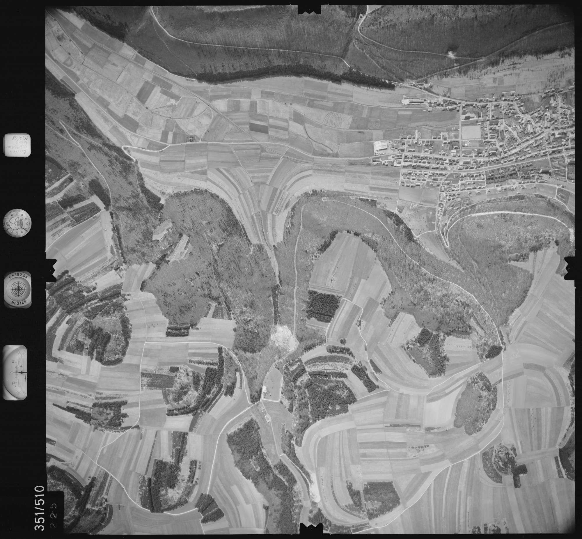 Luftbild: Film 105 Bildnr. 225, Bild 1