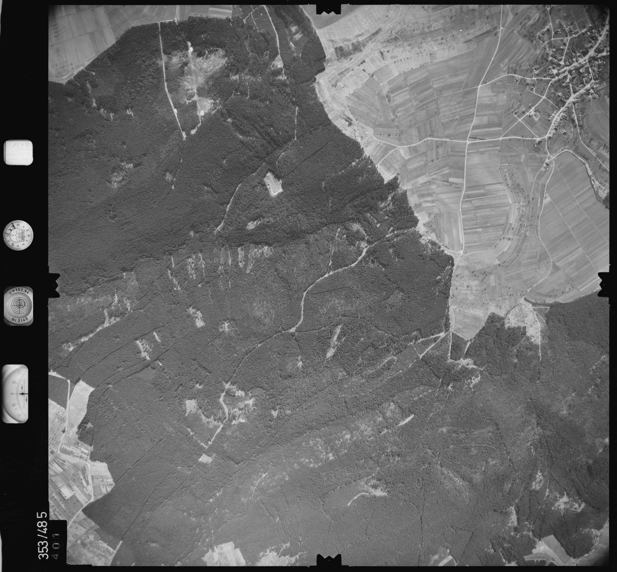 Luftbild: Film 41 Bildnr. 401, Bild 1