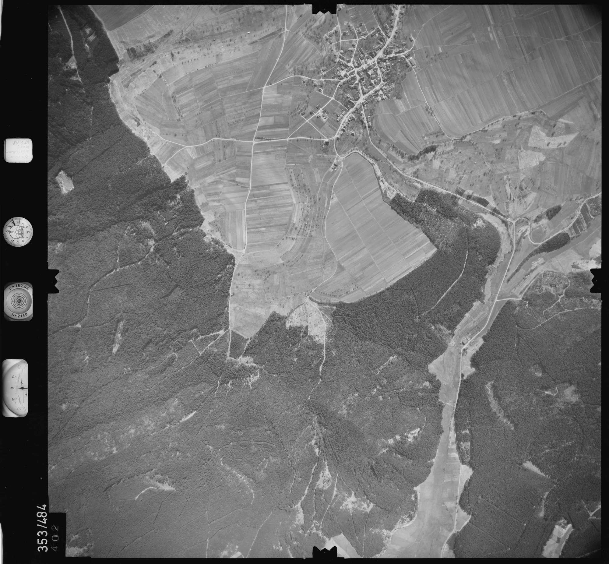 Luftbild: Film 41 Bildnr. 402, Bild 1