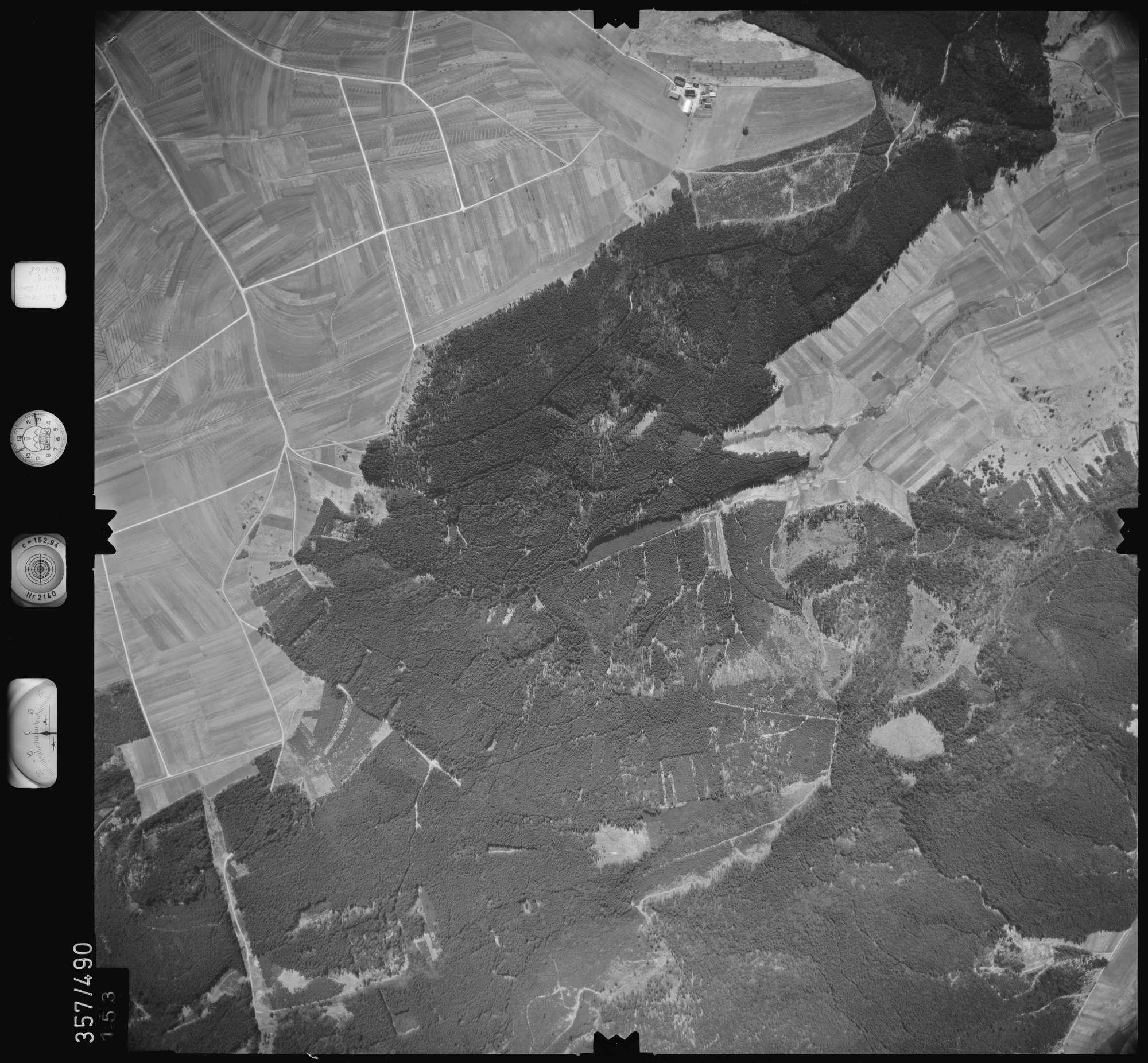 Luftbild: Film 38 Bildnr. 153, Bild 1