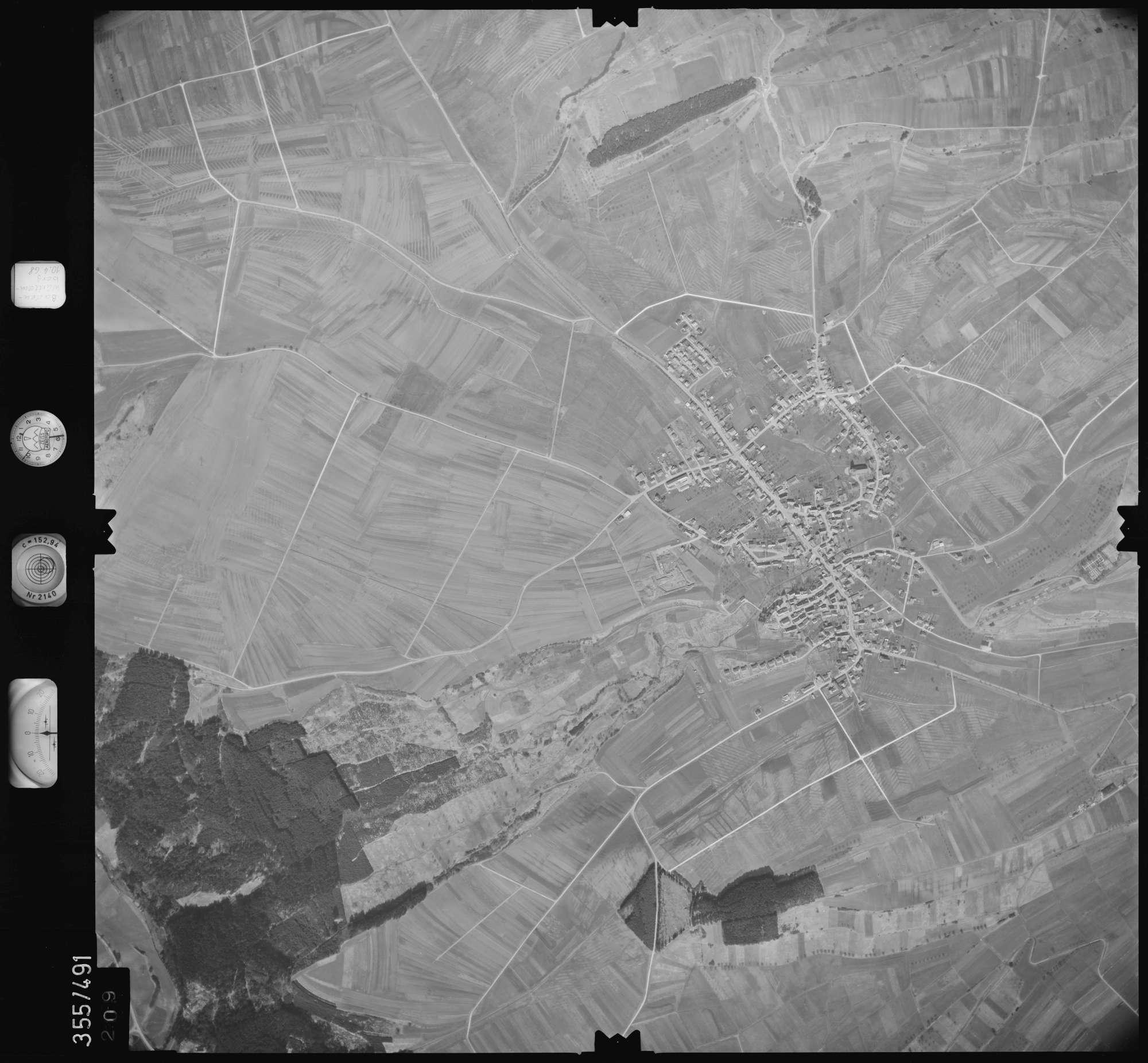 Luftbild: Film 38 Bildnr. 209, Bild 1