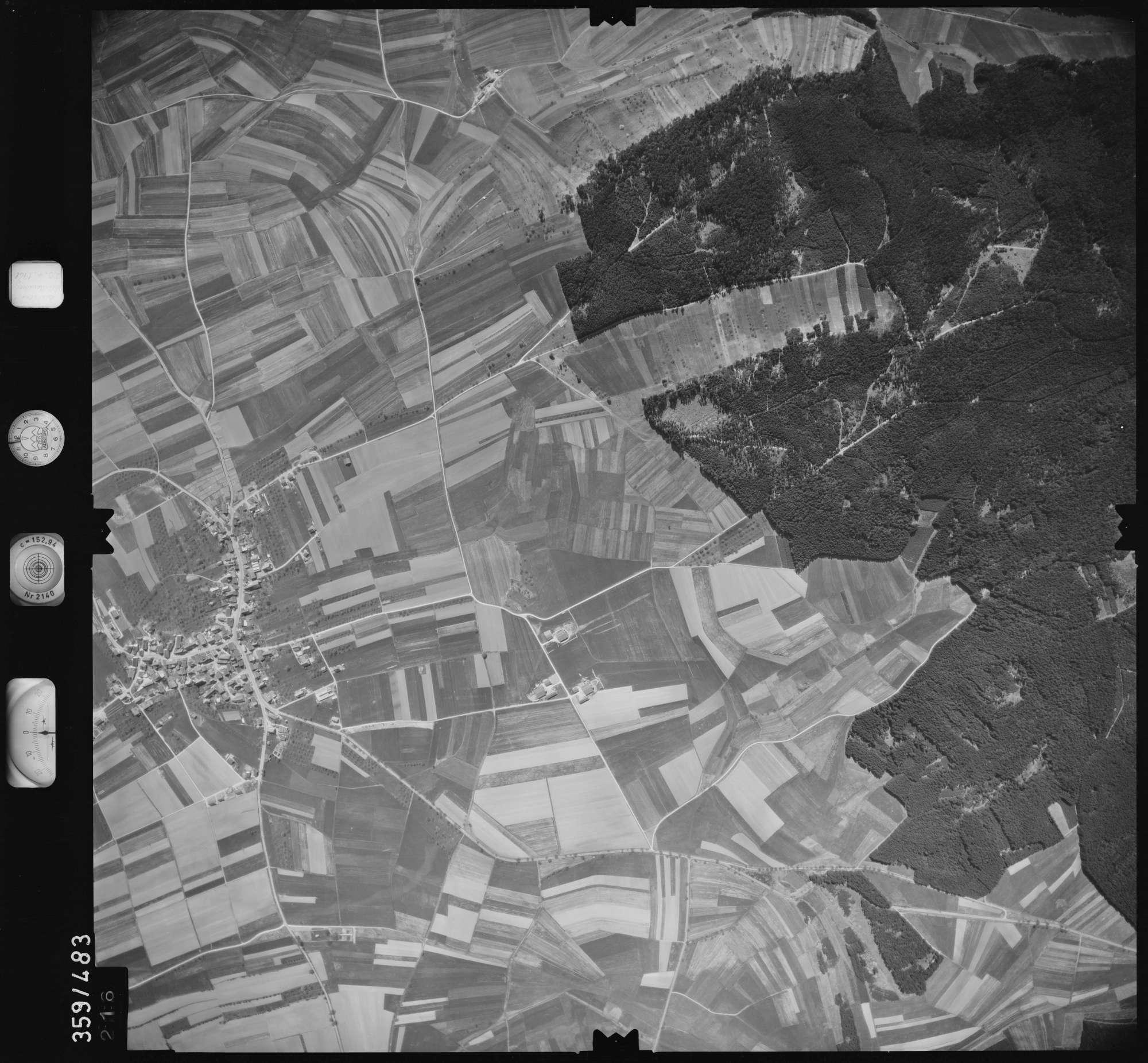 Luftbild: Film 11 Bildnr. 216, Bild 1