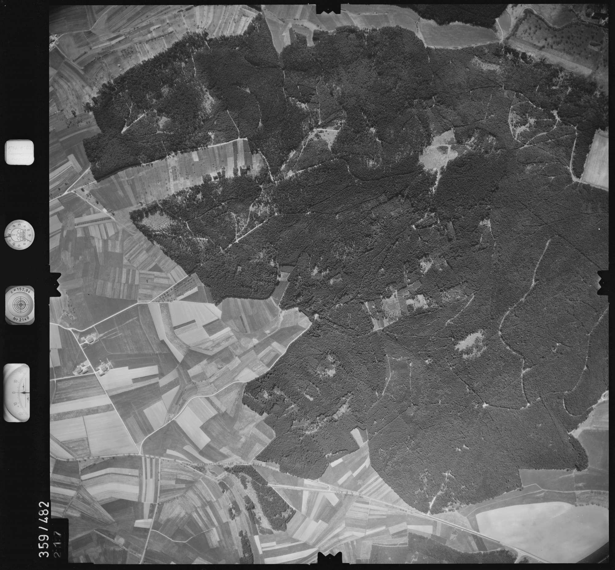 Luftbild: Film 11 Bildnr. 217, Bild 1