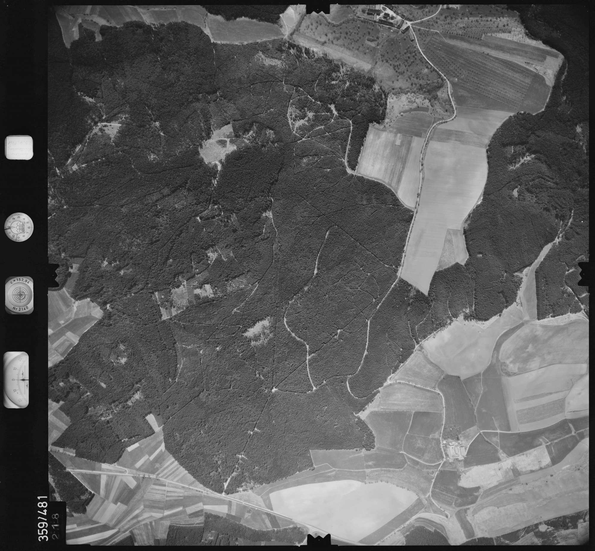 Luftbild: Film 11 Bildnr. 218, Bild 1