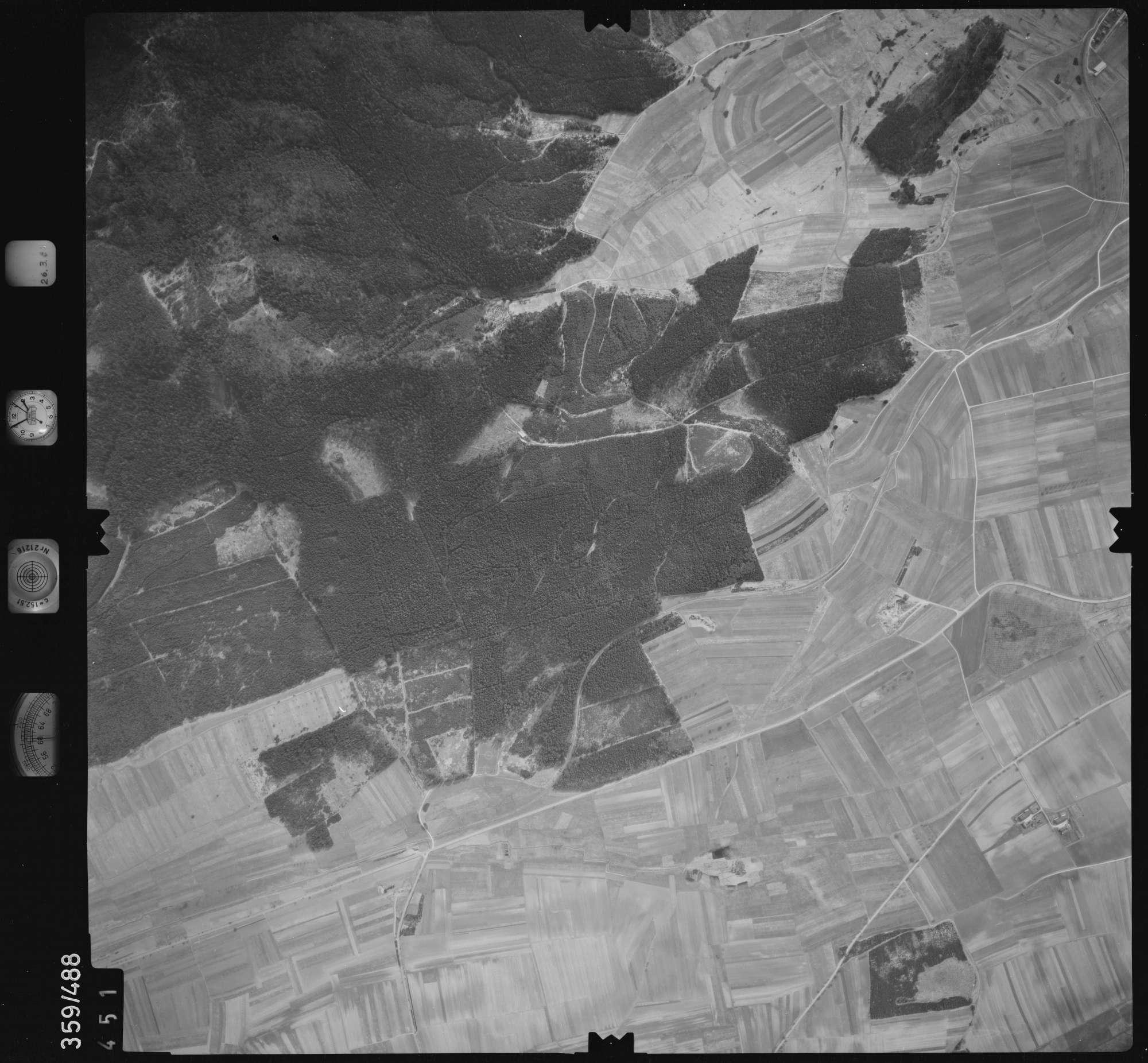 Luftbild: Film 20 Bildnr. 451, Bild 1