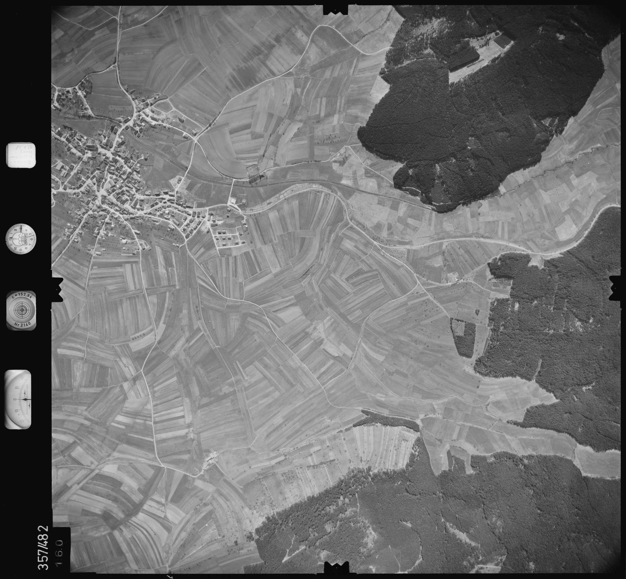 Luftbild: Film 38 Bildnr. 160, Bild 1