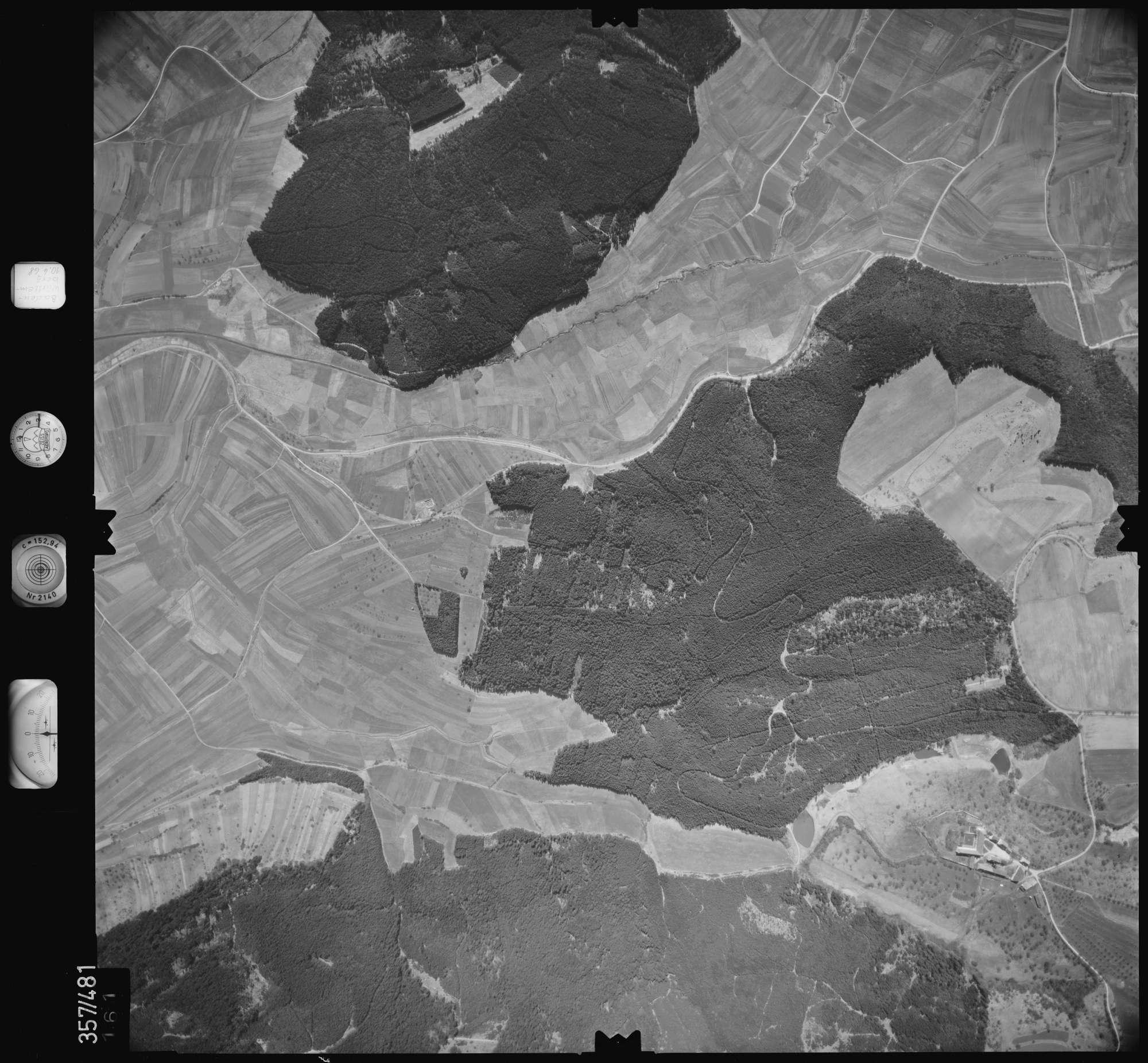 Luftbild: Film 38 Bildnr. 161, Bild 1