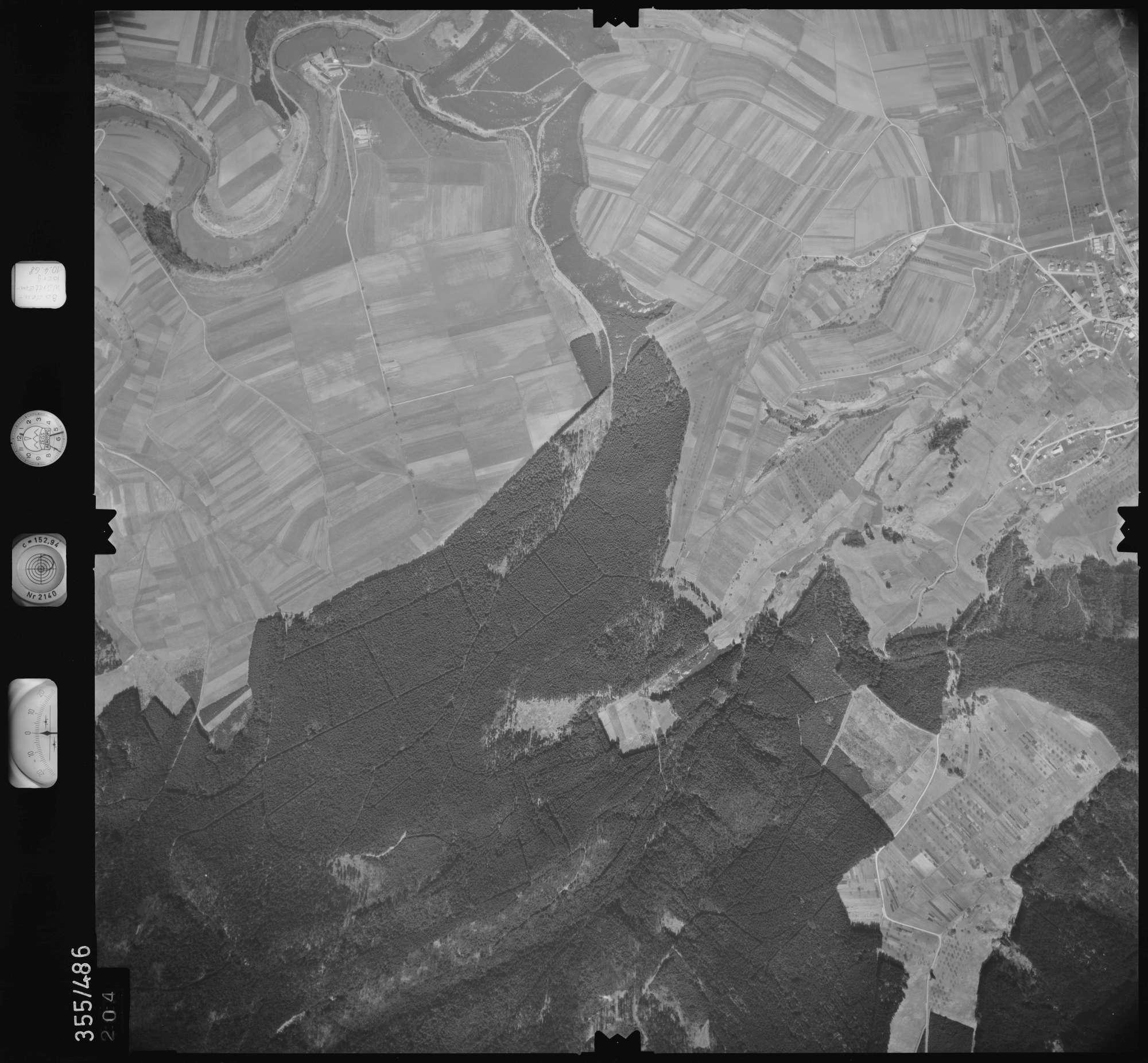 Luftbild: Film 38 Bildnr. 204, Bild 1