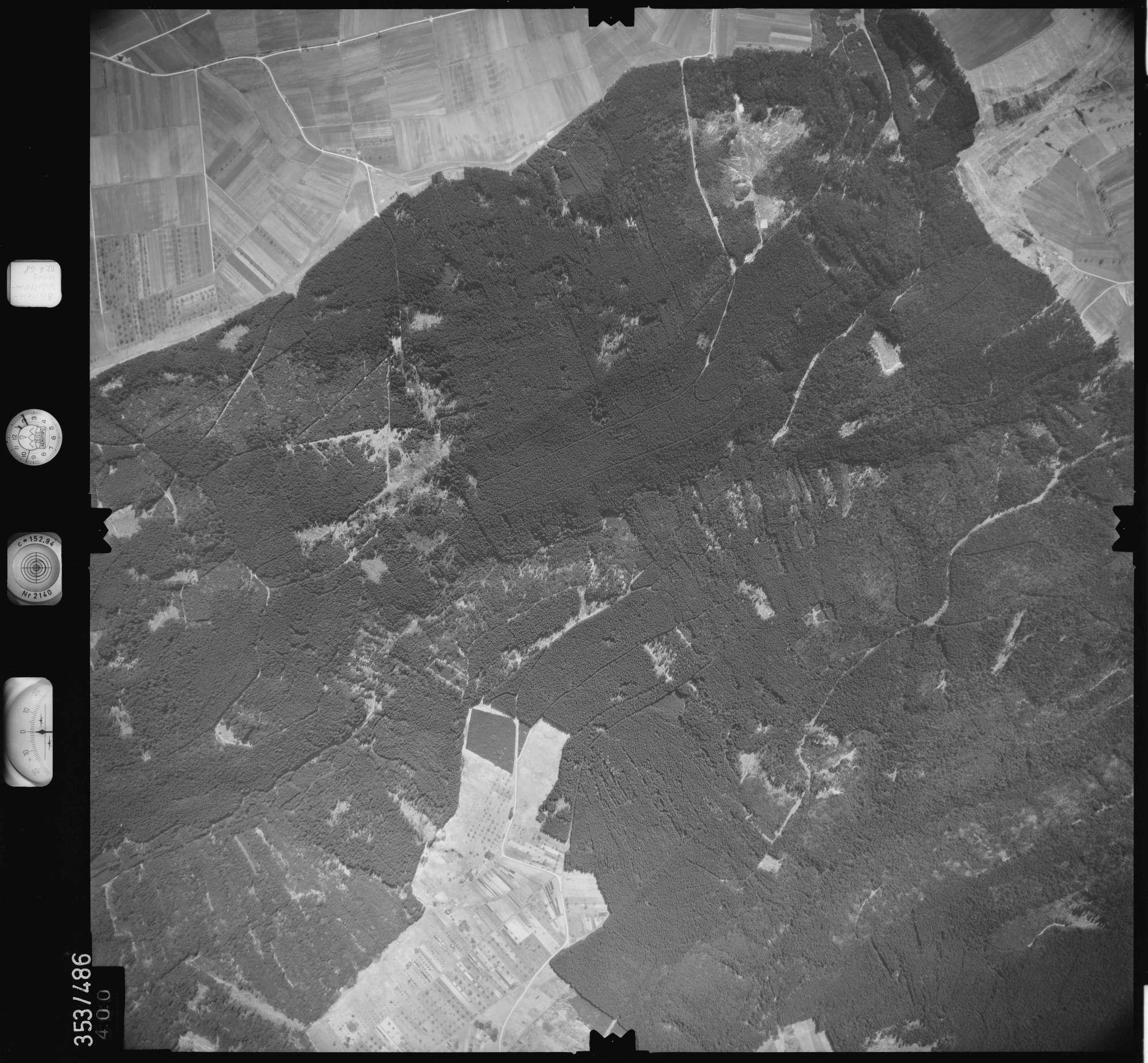 Luftbild: Film 41 Bildnr. 400, Bild 1