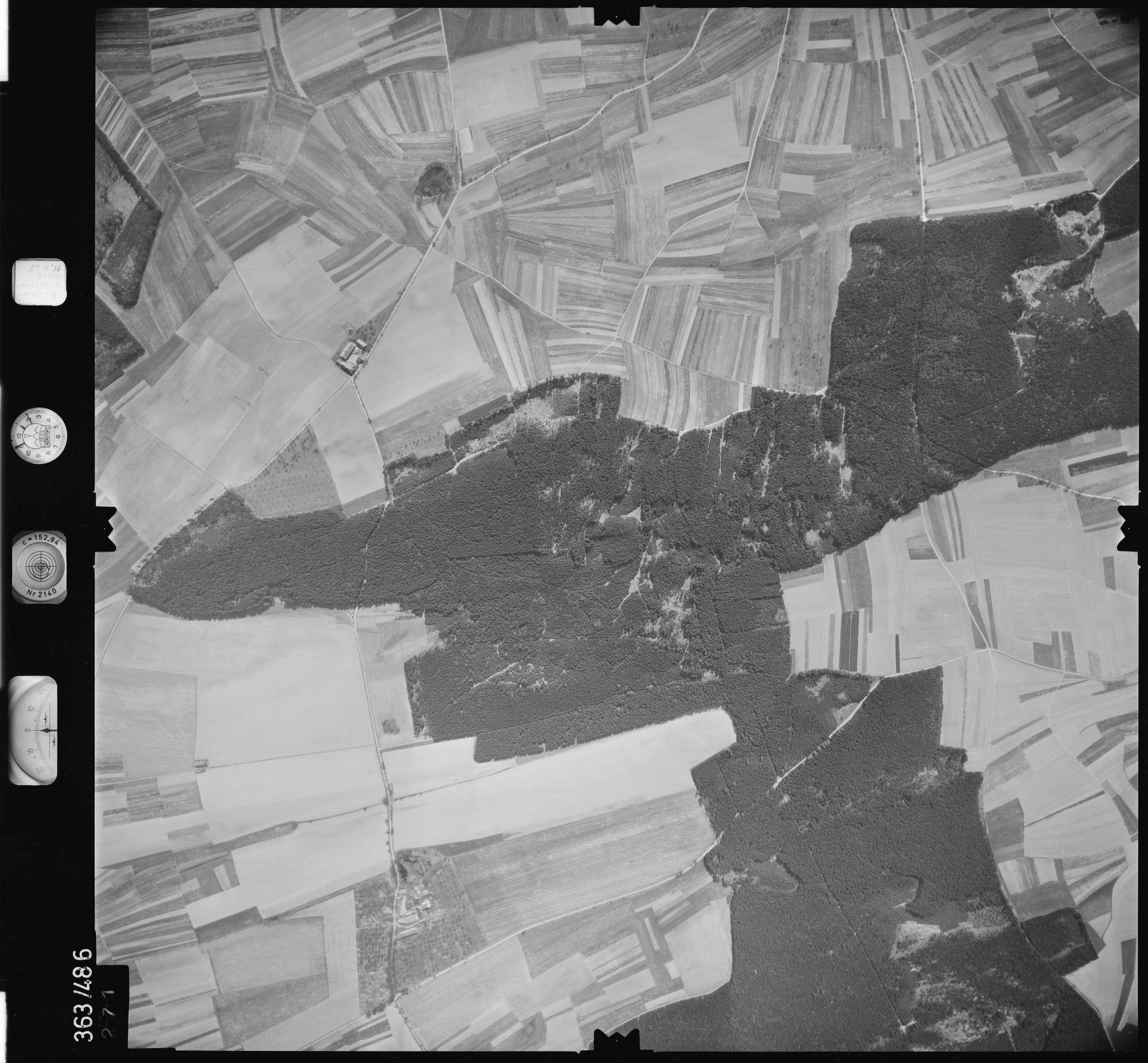 Luftbild: Film 45 Bildnr. 271, Bild 1