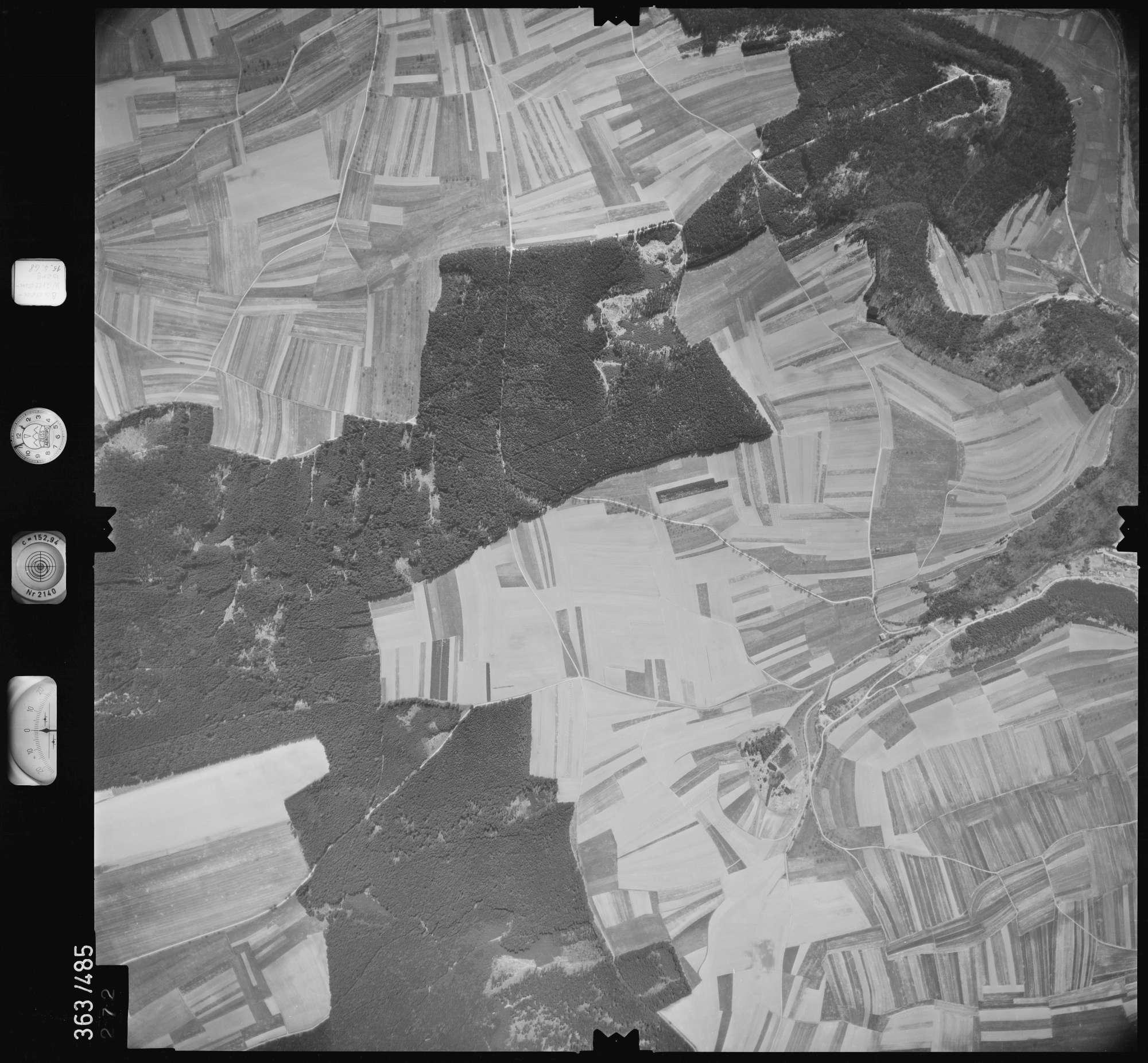 Luftbild: Film 45 Bildnr. 272, Bild 1