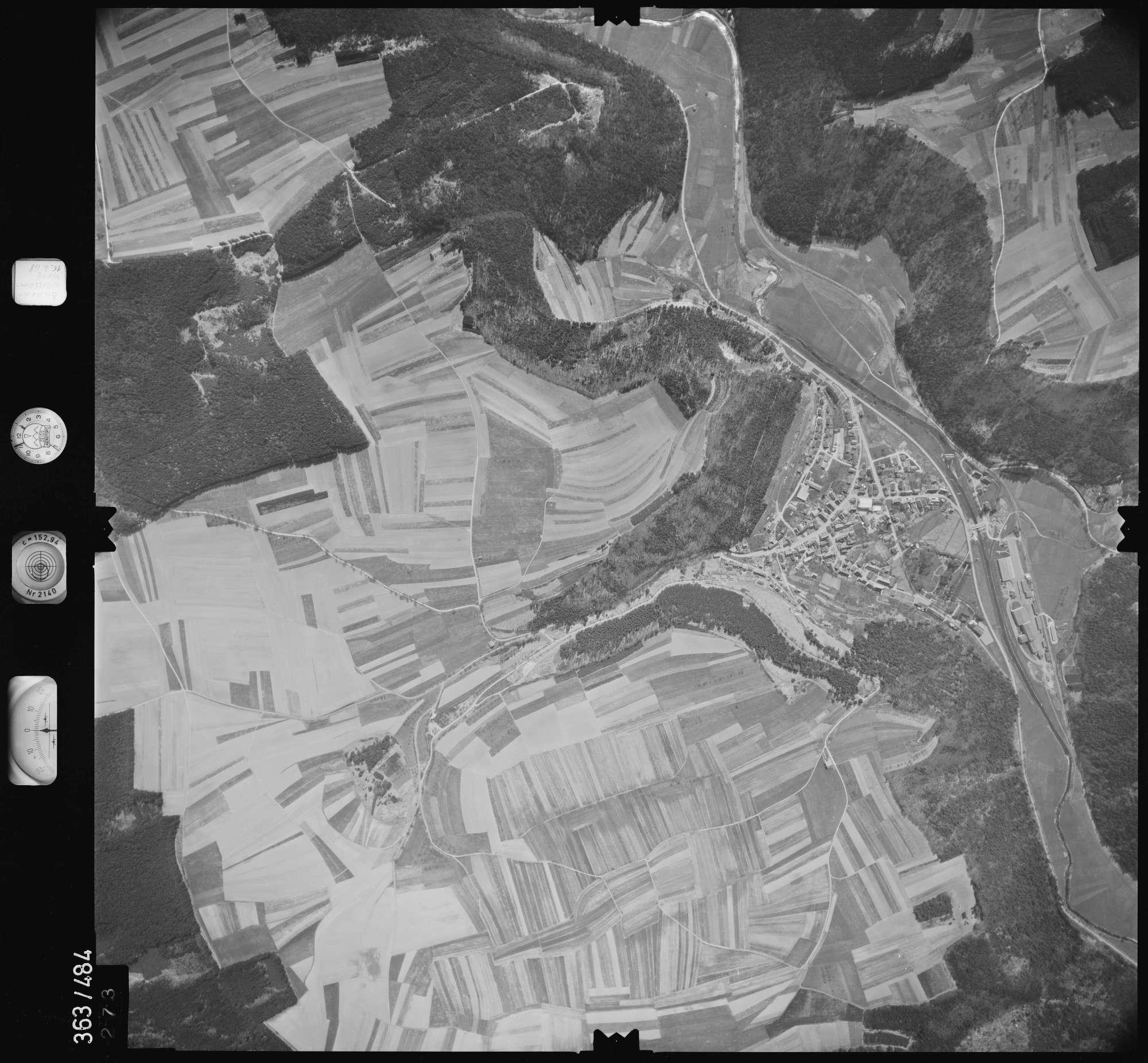 Luftbild: Film 45 Bildnr. 273, Bild 1