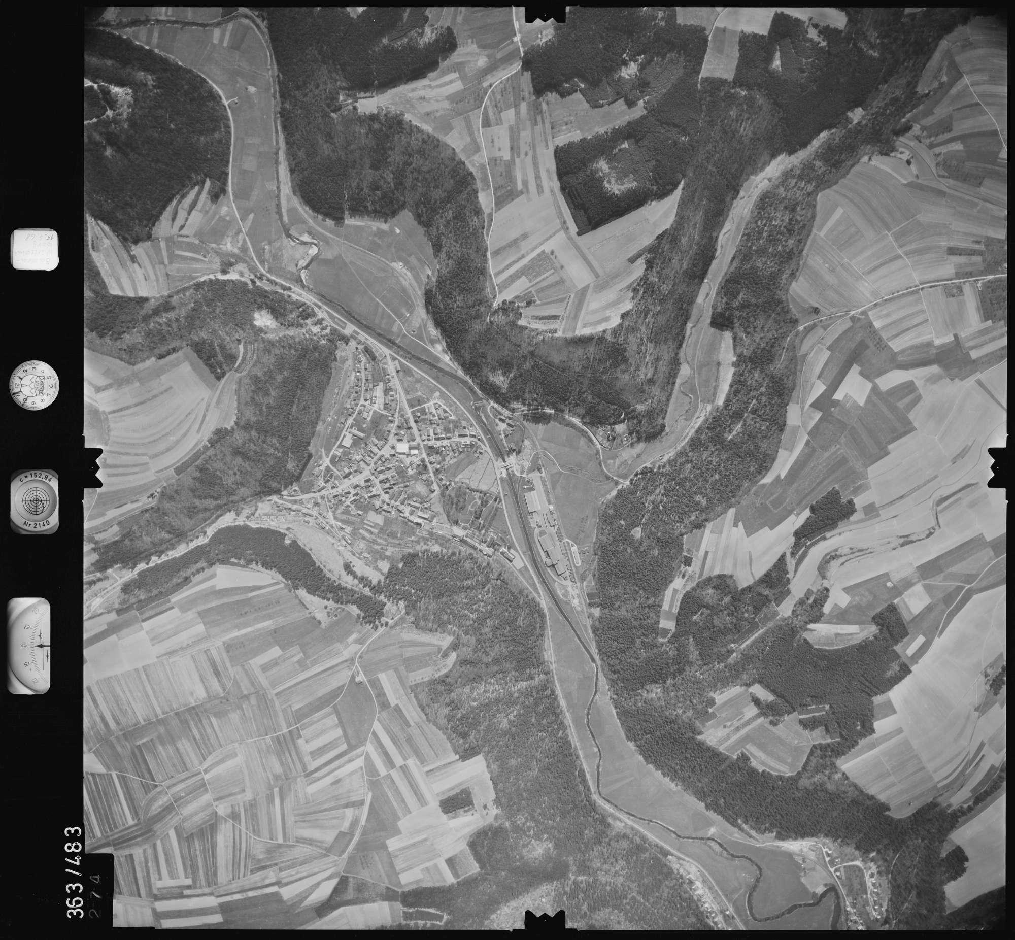 Luftbild: Film 45 Bildnr. 274, Bild 1