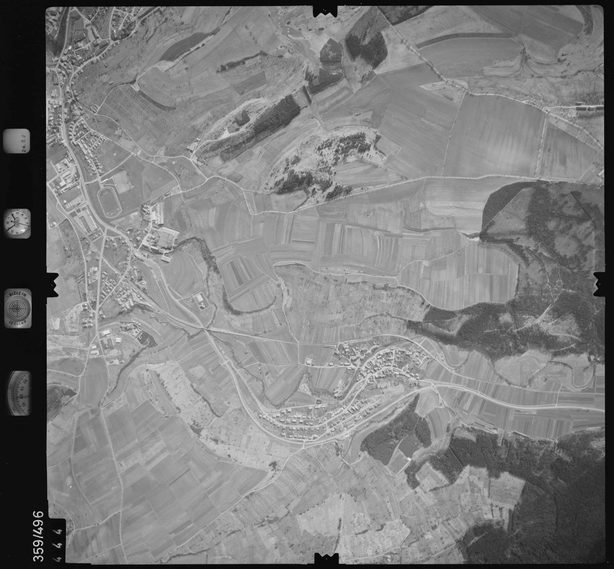 Luftbild: Film 20 Bildnr. 444, Bild 1