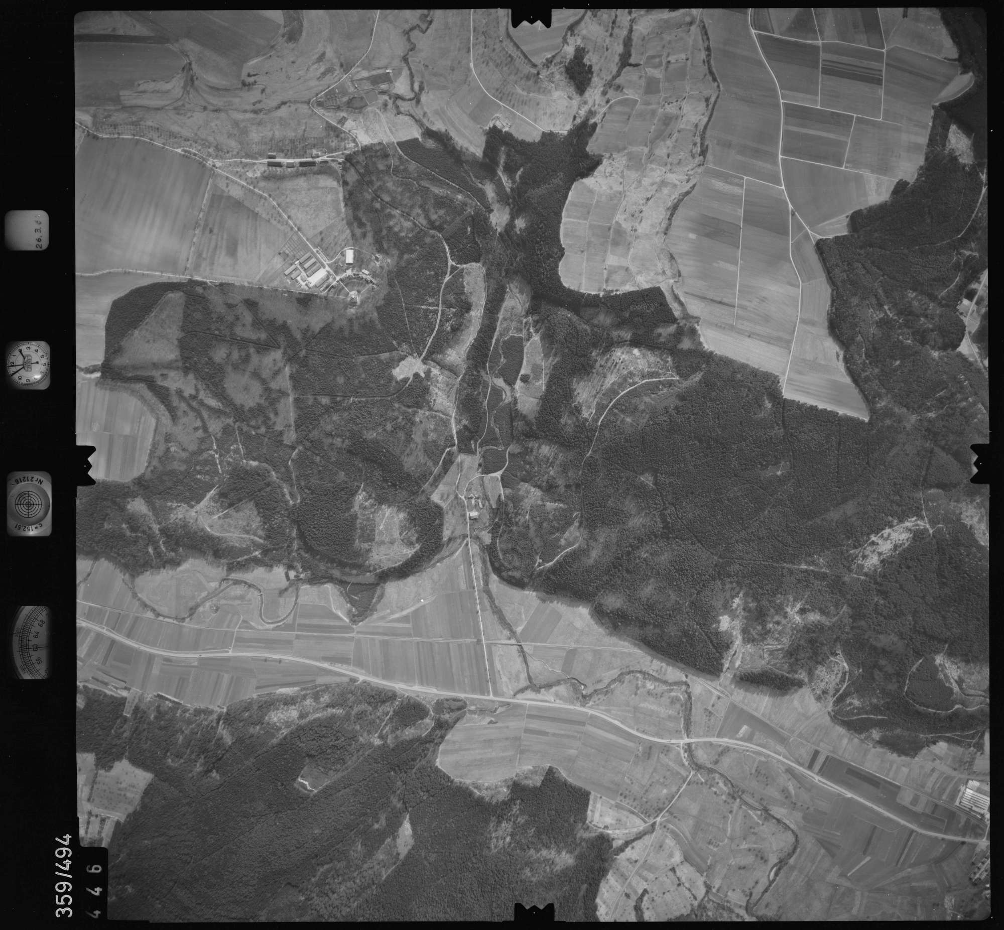 Luftbild: Film 20 Bildnr. 446, Bild 1