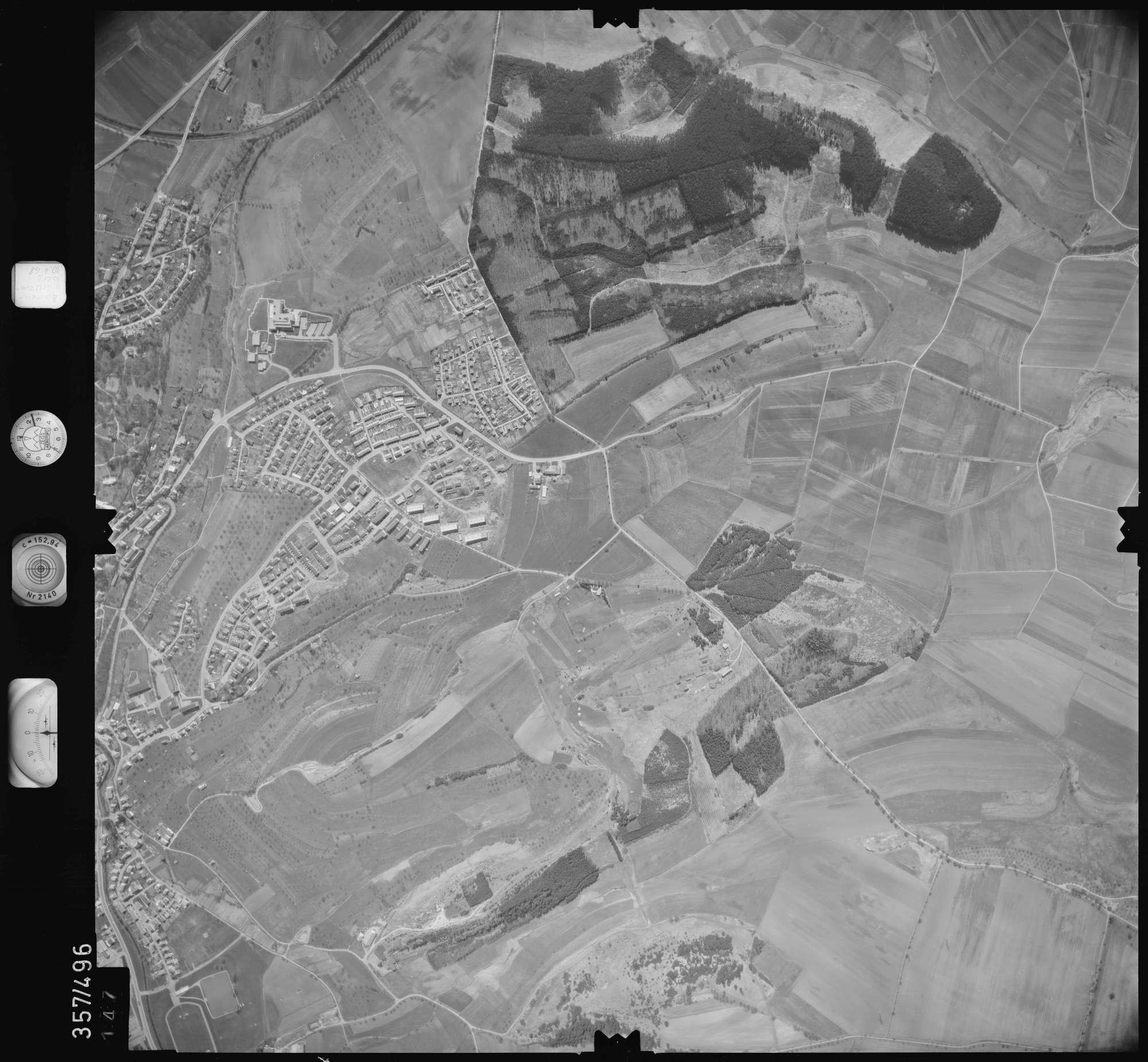 Luftbild: Film 38 Bildnr. 147, Bild 1