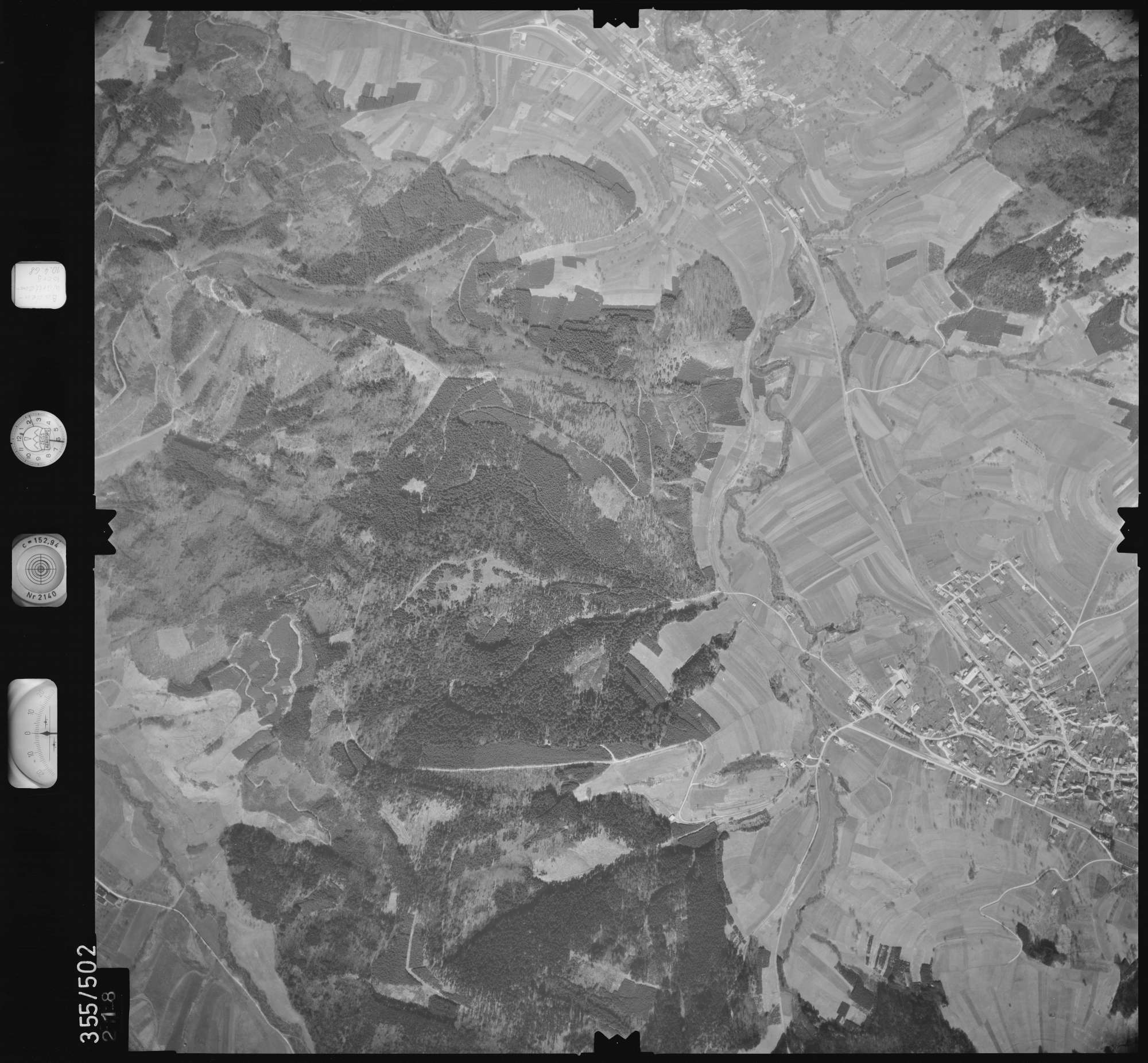 Luftbild: Film 38 Bildnr. 218, Bild 1