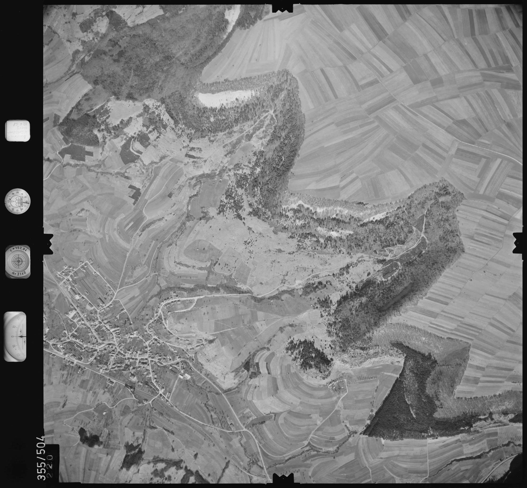 Luftbild: Film 38 Bildnr. 220, Bild 1