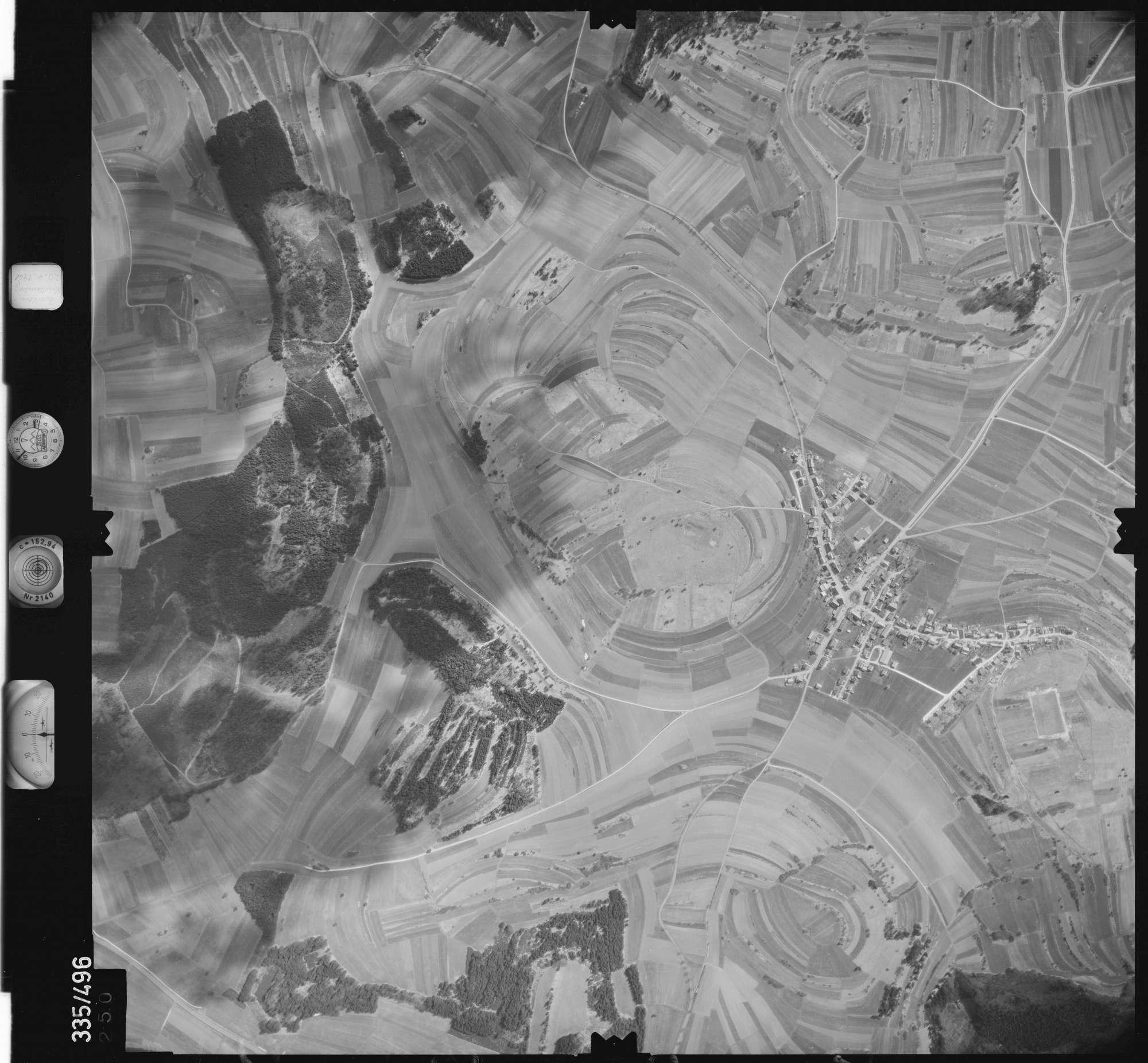 Luftbild: Film 15 Bildnr. 250, Bild 1
