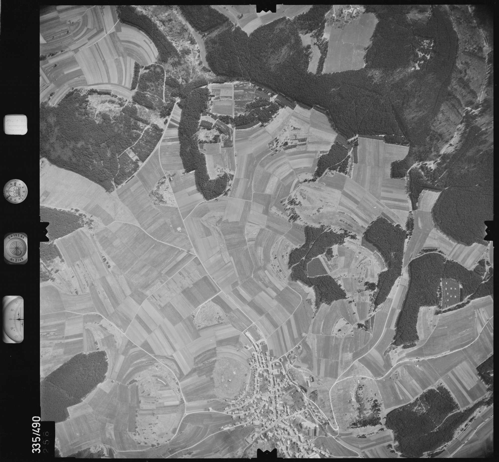 Luftbild: Film 15 Bildnr. 256, Bild 1