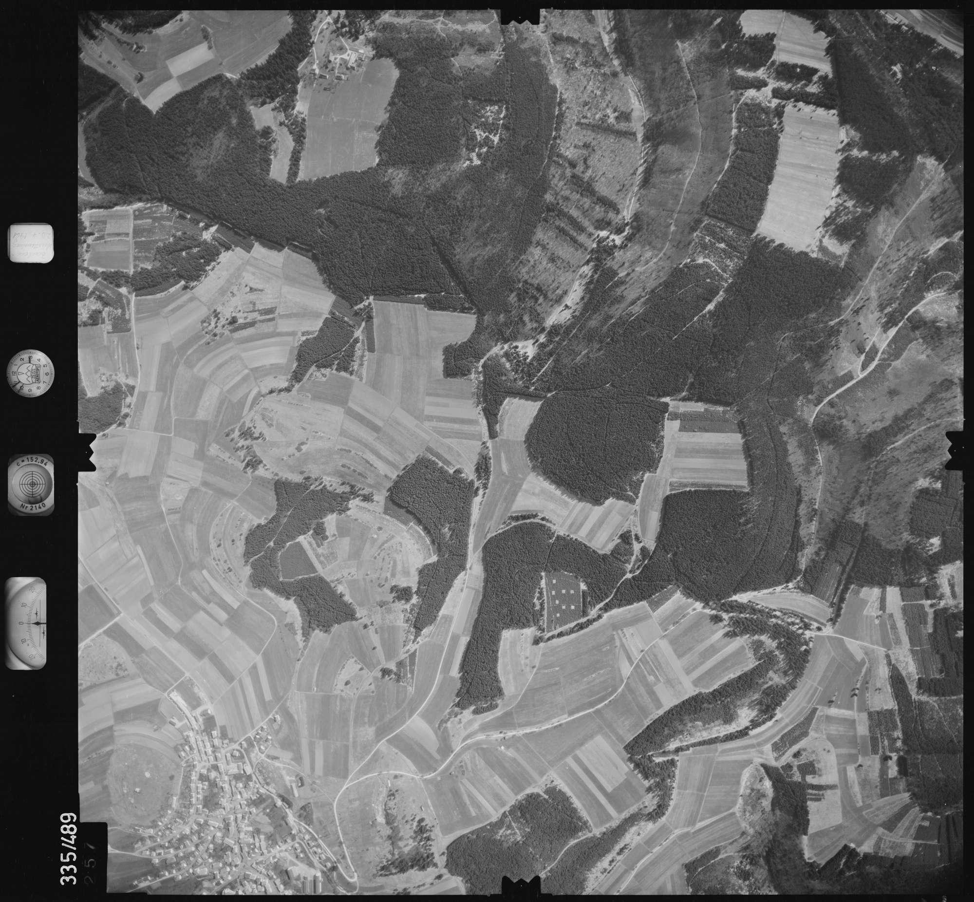 Luftbild: Film 15 Bildnr. 257, Bild 1