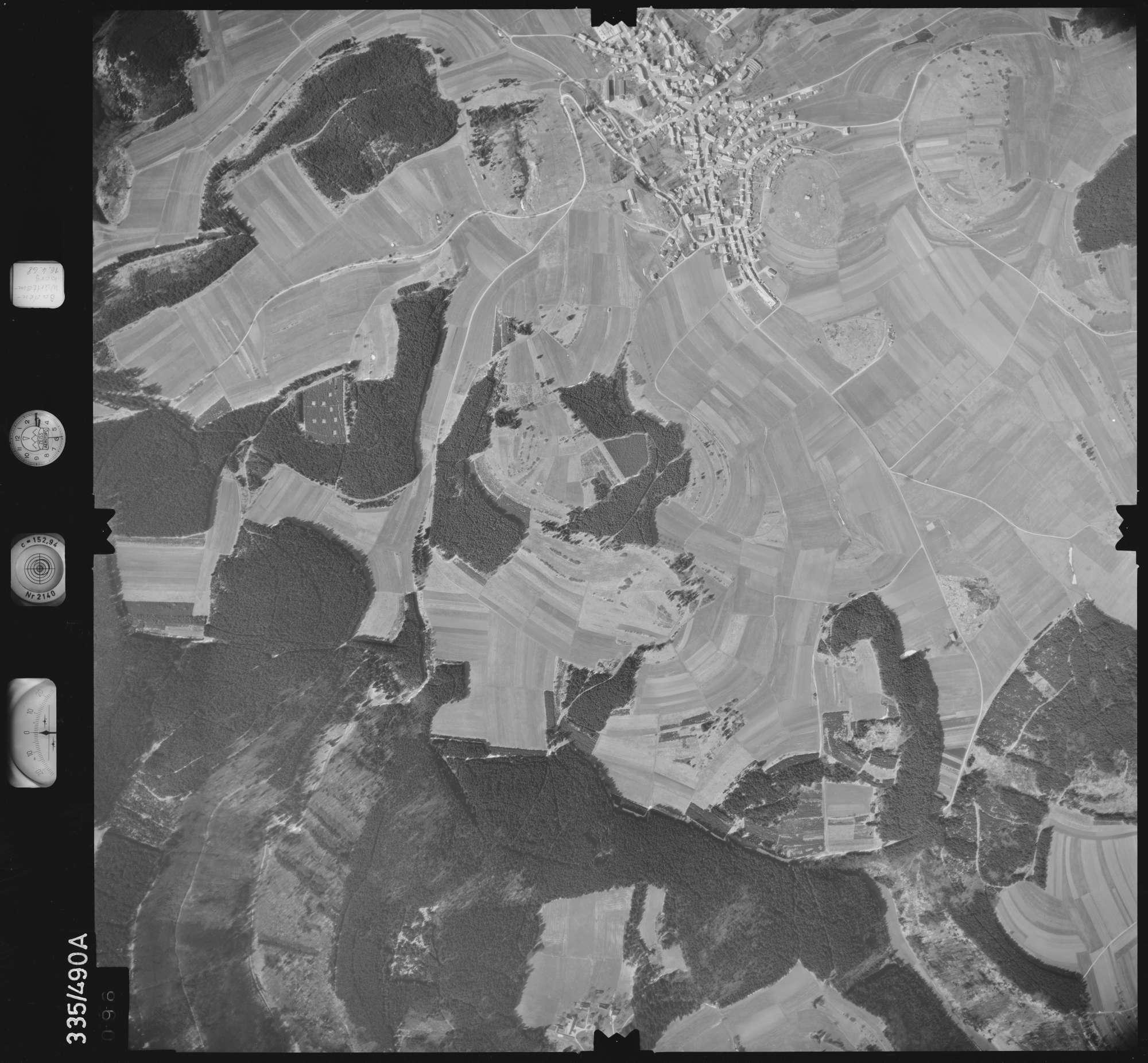 Luftbild: Film 49 Bildnr. 96, Bild 1