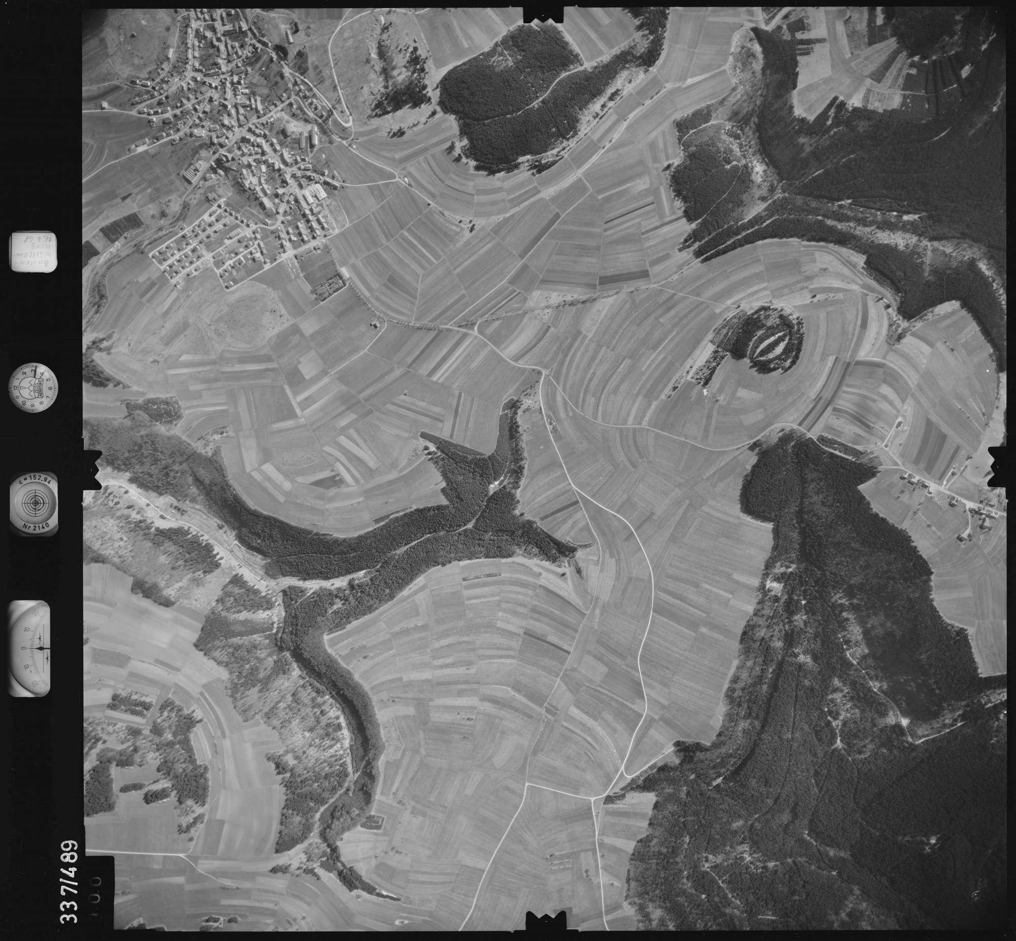 Luftbild: Film 49 Bildnr. 100, Bild 1