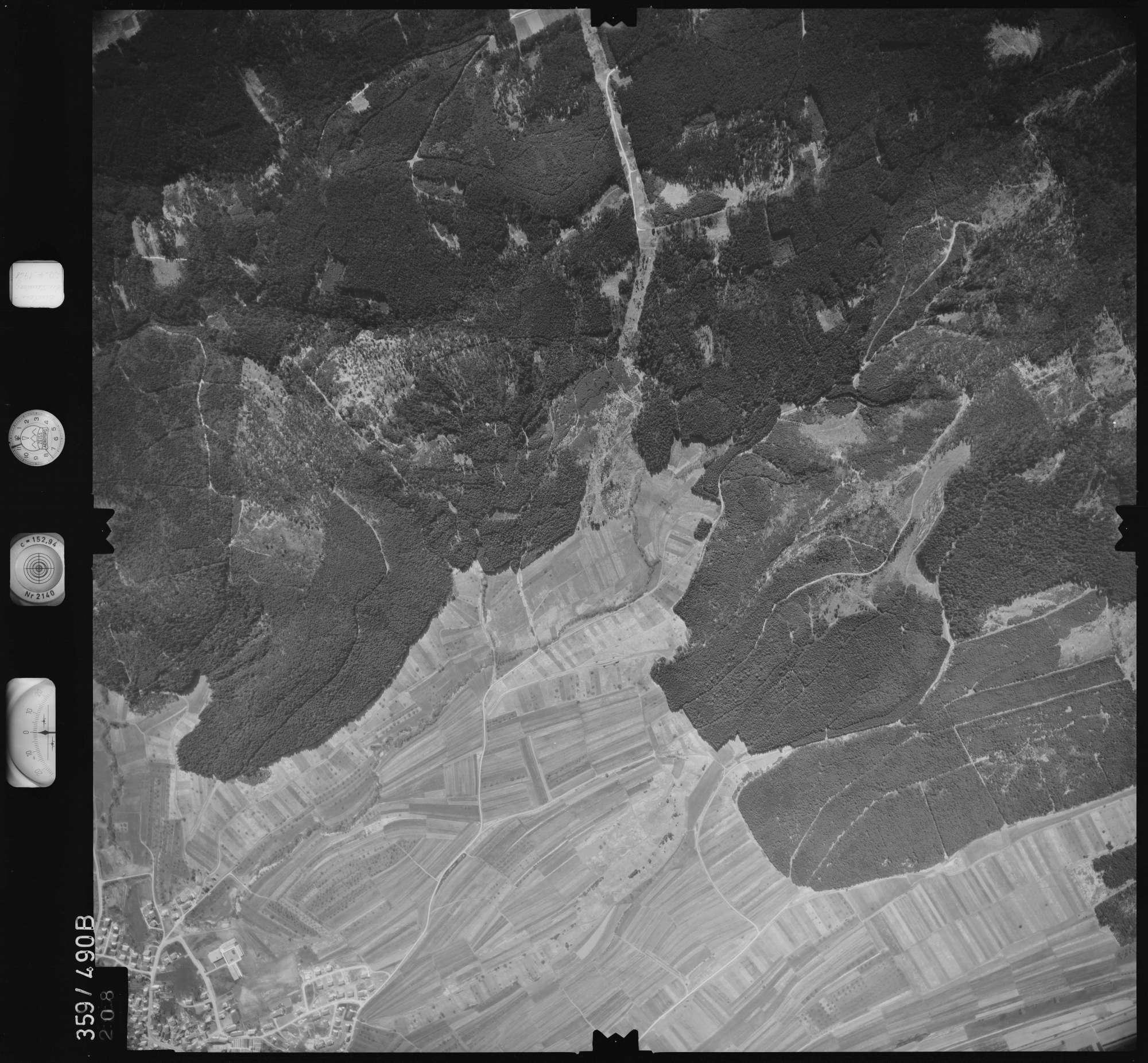 Luftbild: Film 11 Bildnr. 208, Bild 1