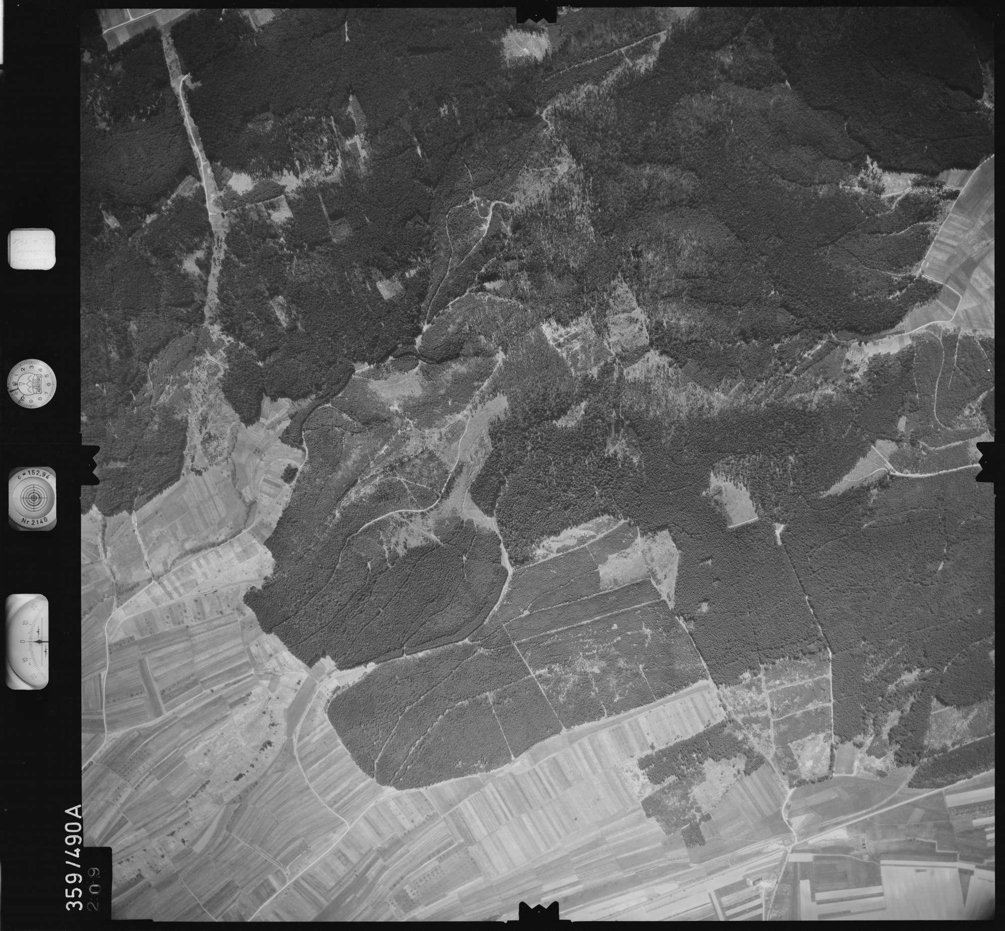 Luftbild: Film 11 Bildnr. 209, Bild 1