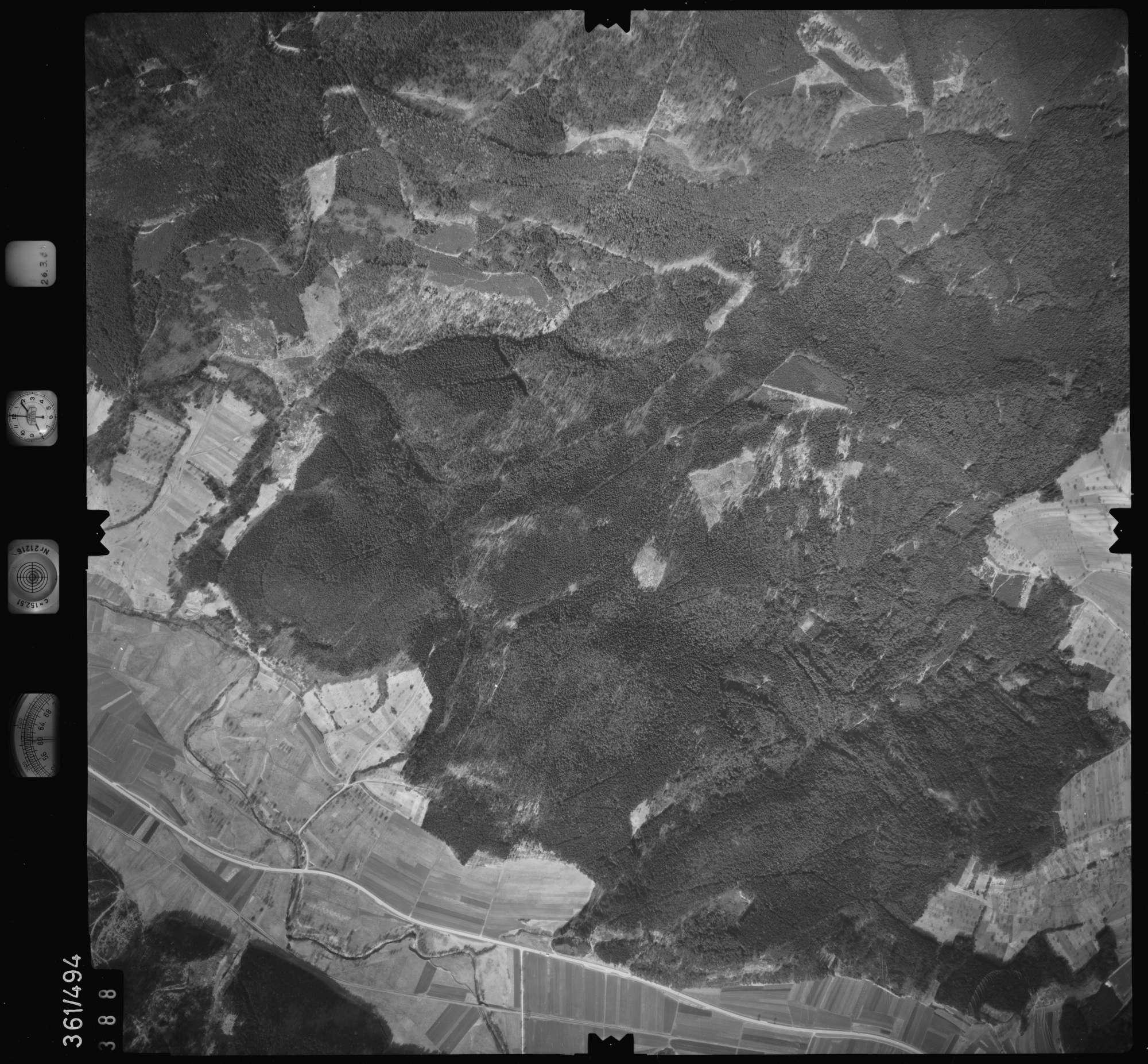 Luftbild: Film 20 Bildnr. 388, Bild 1