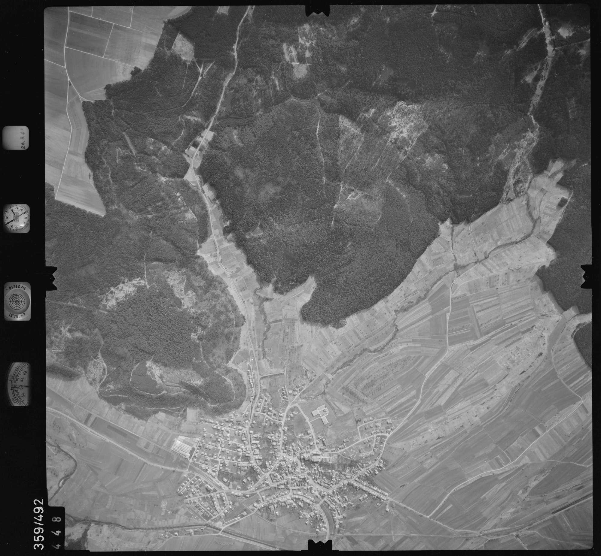 Luftbild: Film 20 Bildnr. 448, Bild 1